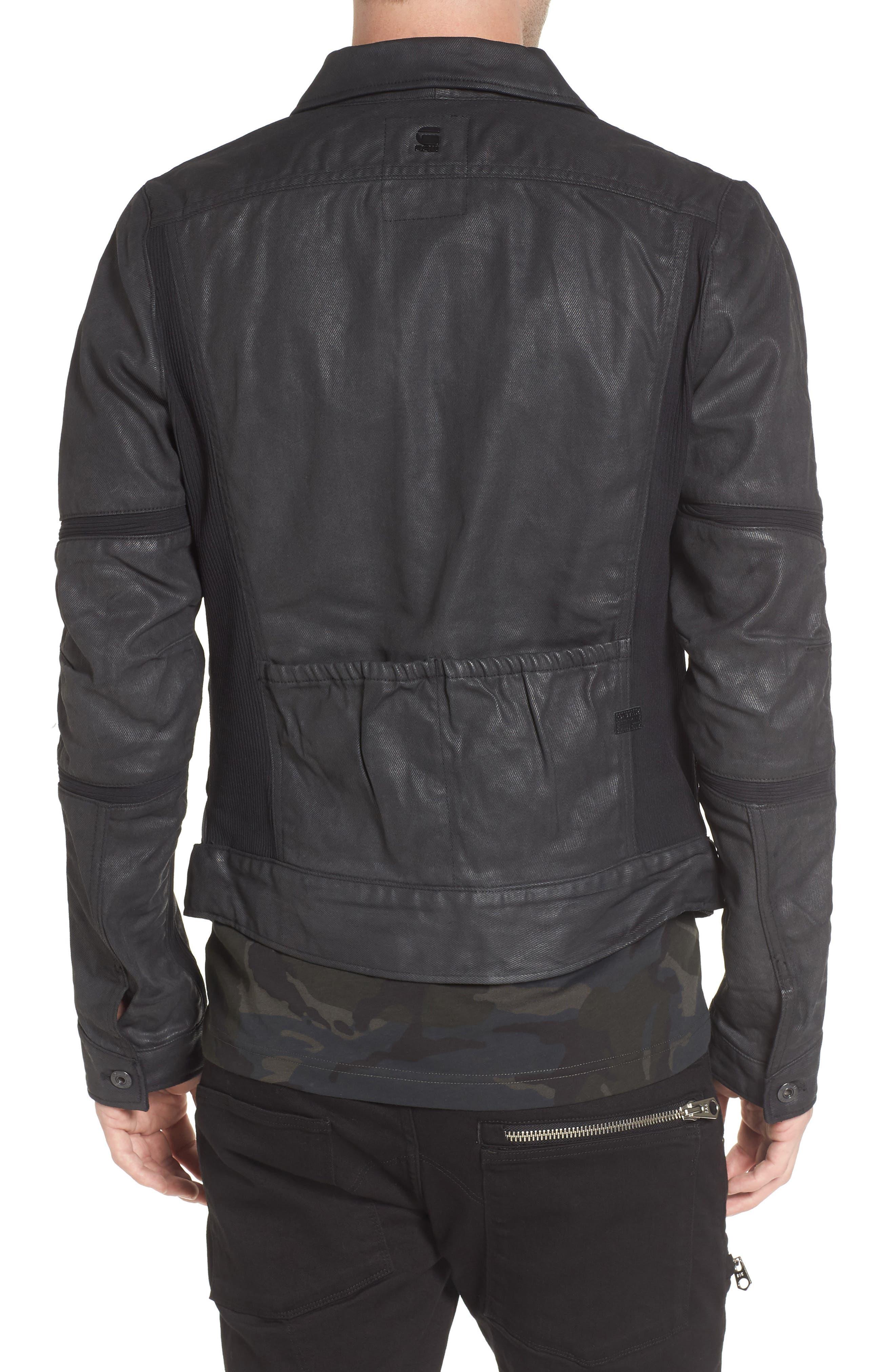 Motac 3D Slim Denim Jacket,                             Alternate thumbnail 2, color,                             001