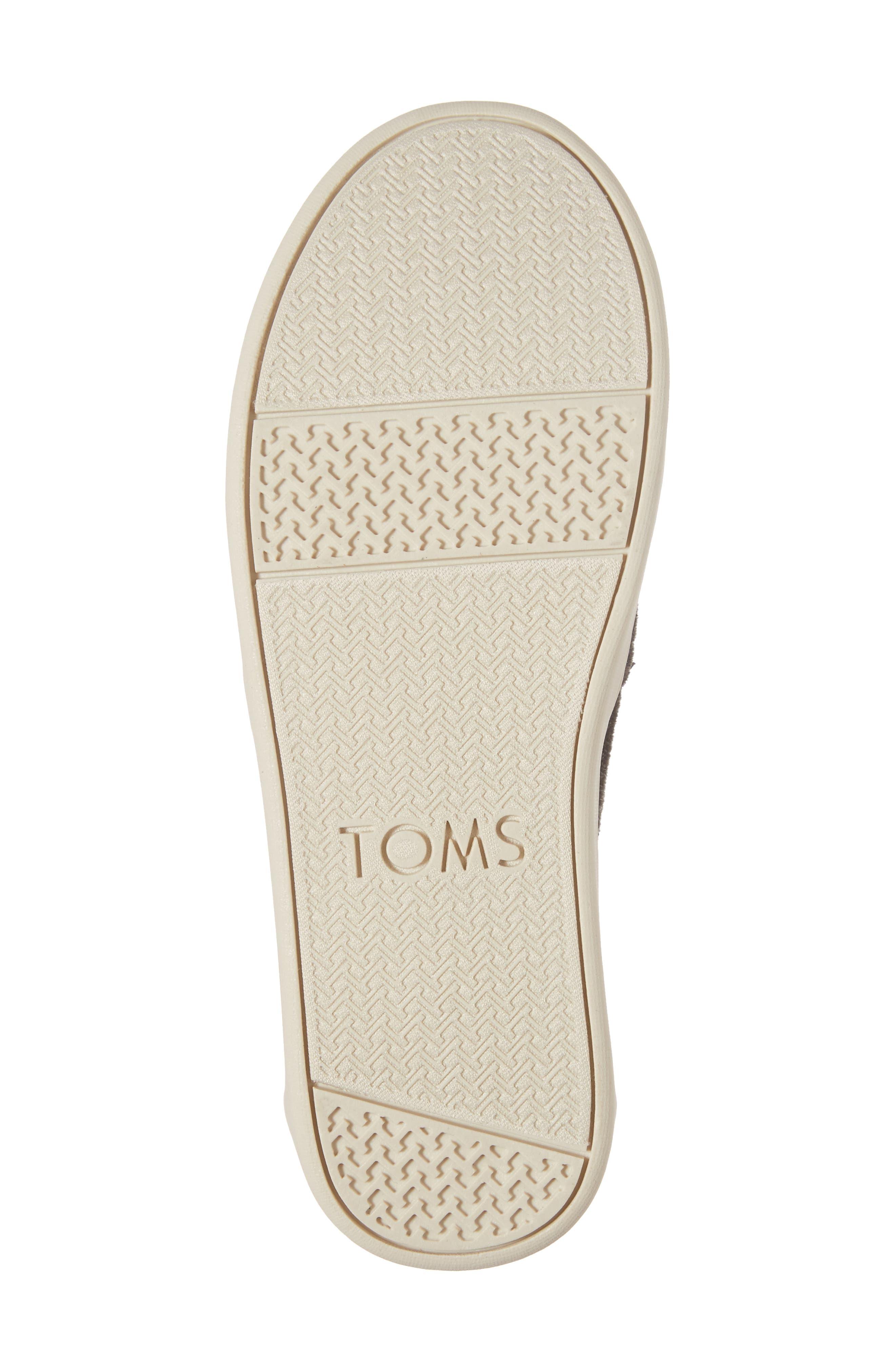 Herringbone Slip-On Sneaker,                             Alternate thumbnail 6, color,                             021