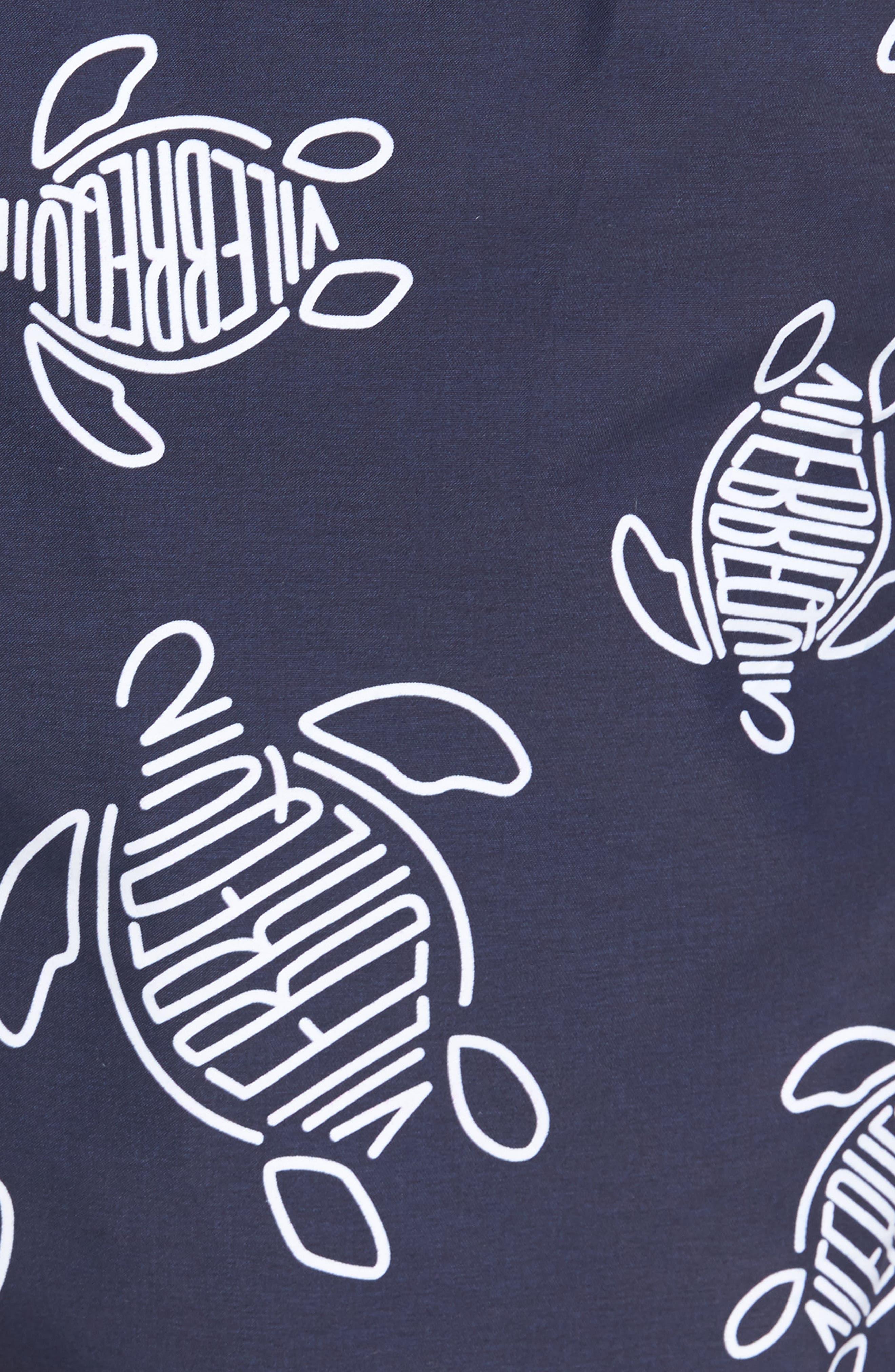 Turtles Swim Trunks,                             Alternate thumbnail 5, color,                             NAVY