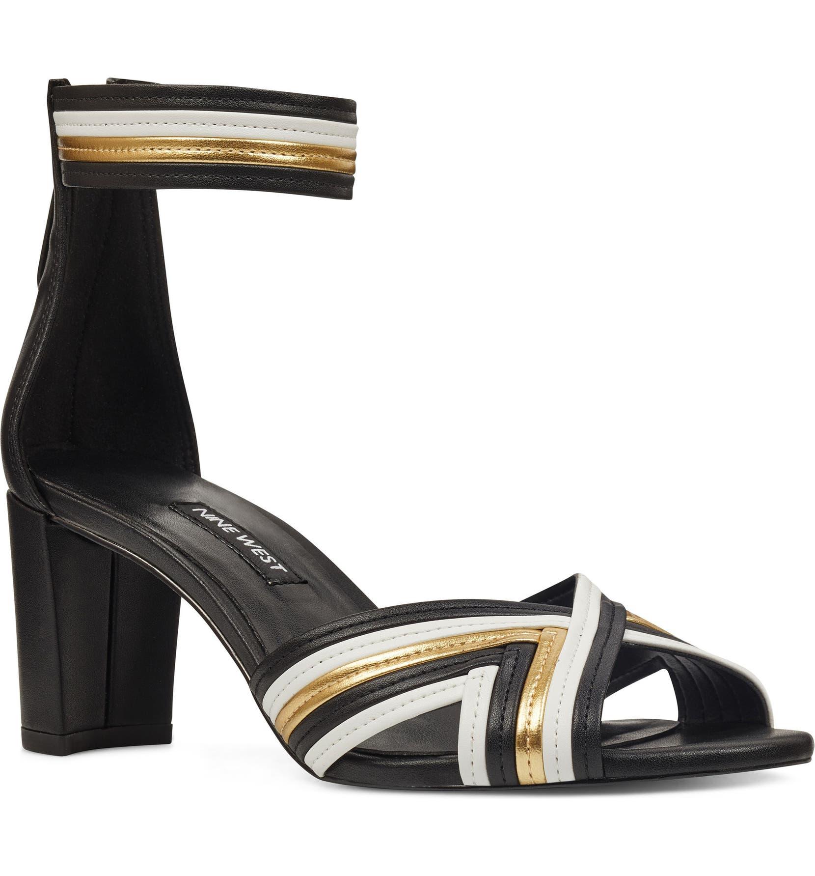 63424ea59f9 Nine West Pearl3 Ankle Strap Sandal (Women)