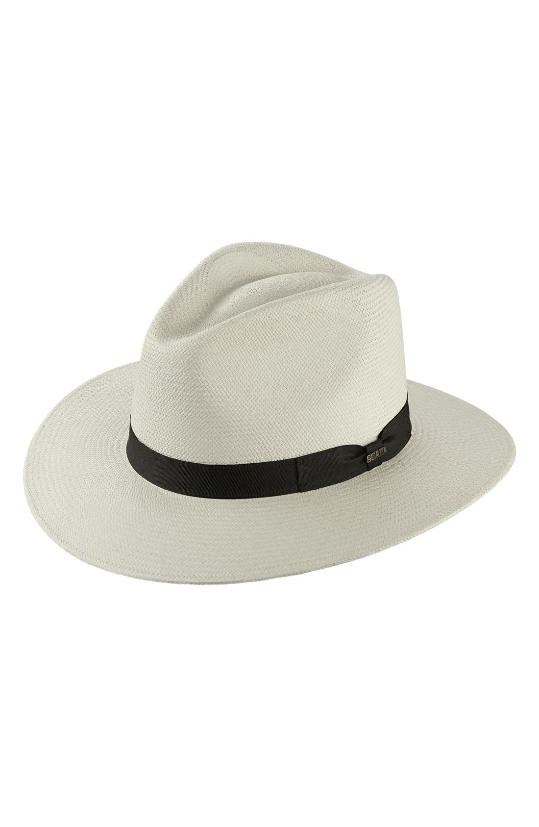 Straw Safari Hat,                             Main thumbnail 1, color,                             116