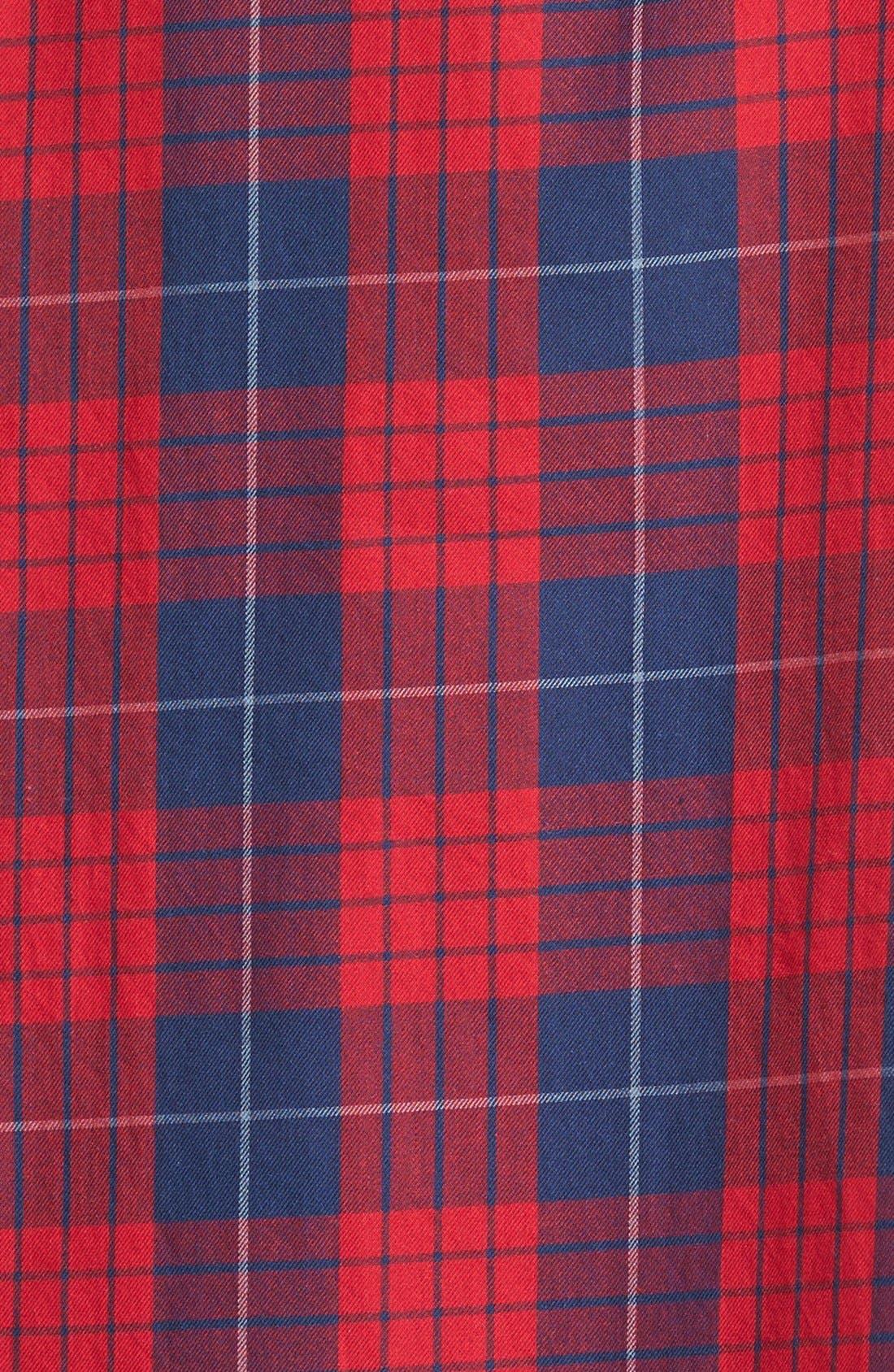 'Edina Plaid' Oversize Boyshirt,                             Alternate thumbnail 2, color,                             600