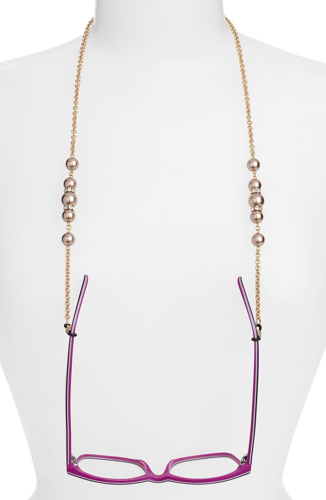 'Cadabra' Swarovski Crystal Eyeglass Chain,                             Main thumbnail 2, color,