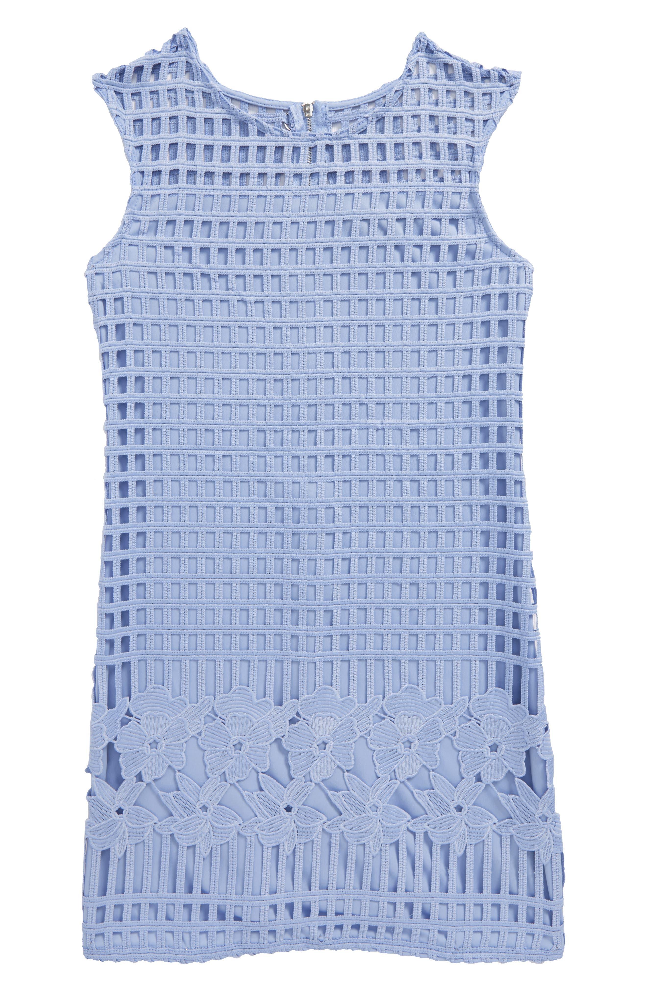 Sleeveless Shift Dress,                         Main,                         color, 450