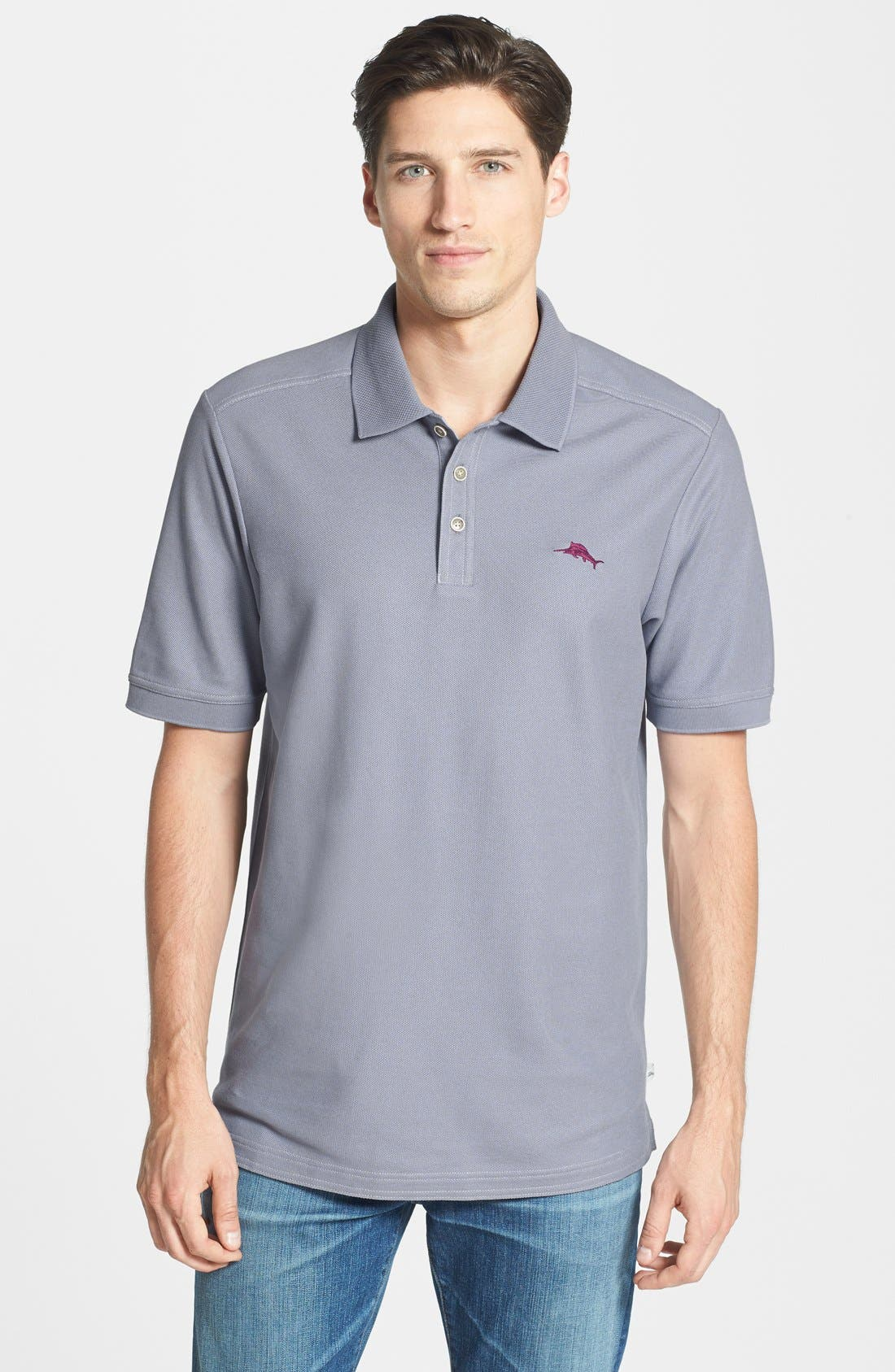'The Emfielder' Original Fit Piqué Polo,                             Main thumbnail 4, color,