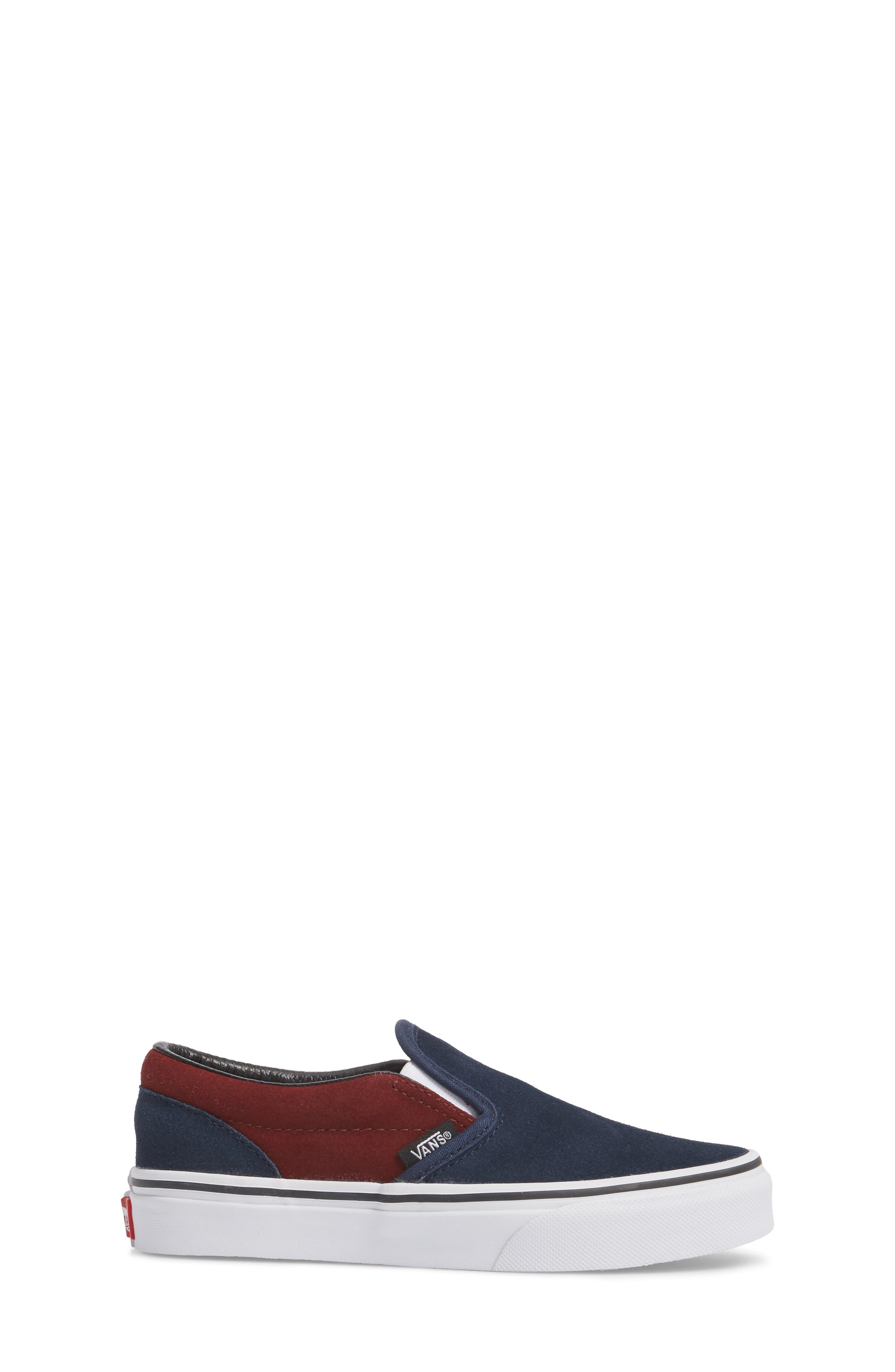 Classic Slip-On Sneaker,                             Alternate thumbnail 3, color,                             401