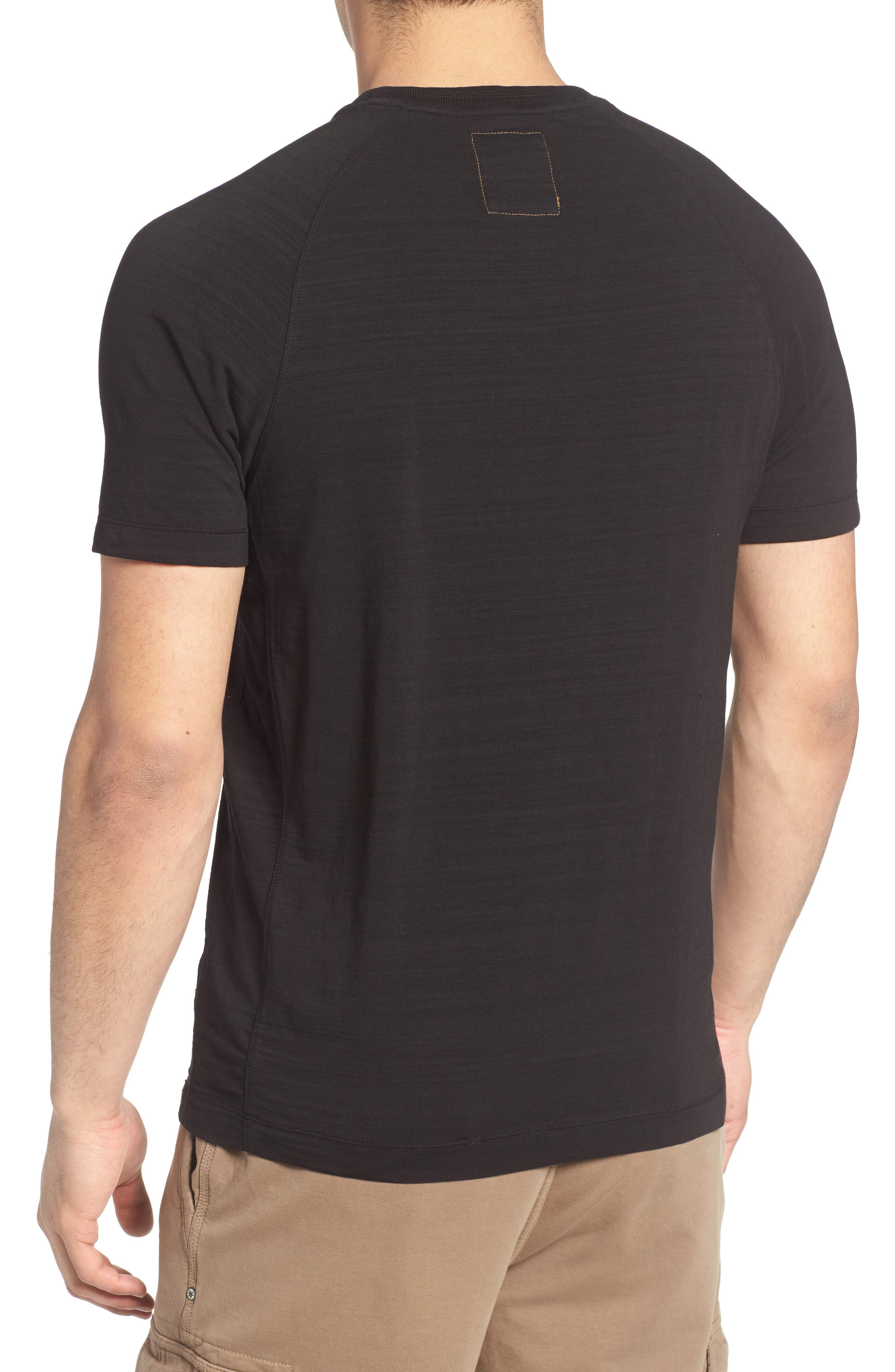 Riggs Stretch Slub Jersey T-Shirt,                             Alternate thumbnail 2, color,                             001