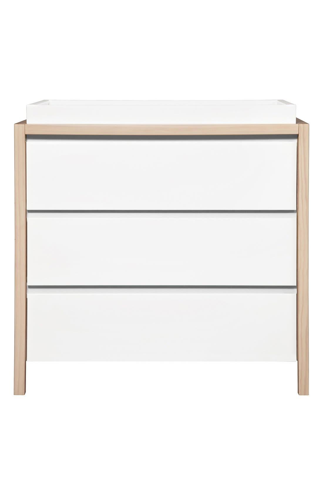 'Bingo' Three Drawer Changer Dresser,                         Main,                         color,