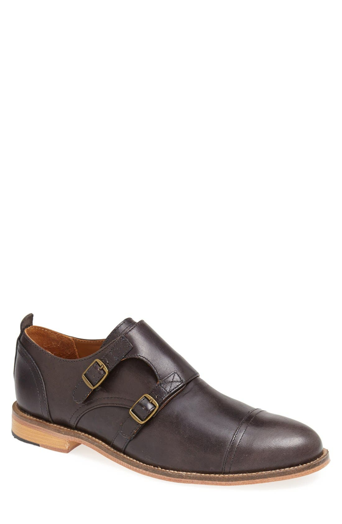 'Troop' Double Monk Slip-On,                         Main,                         color, 001