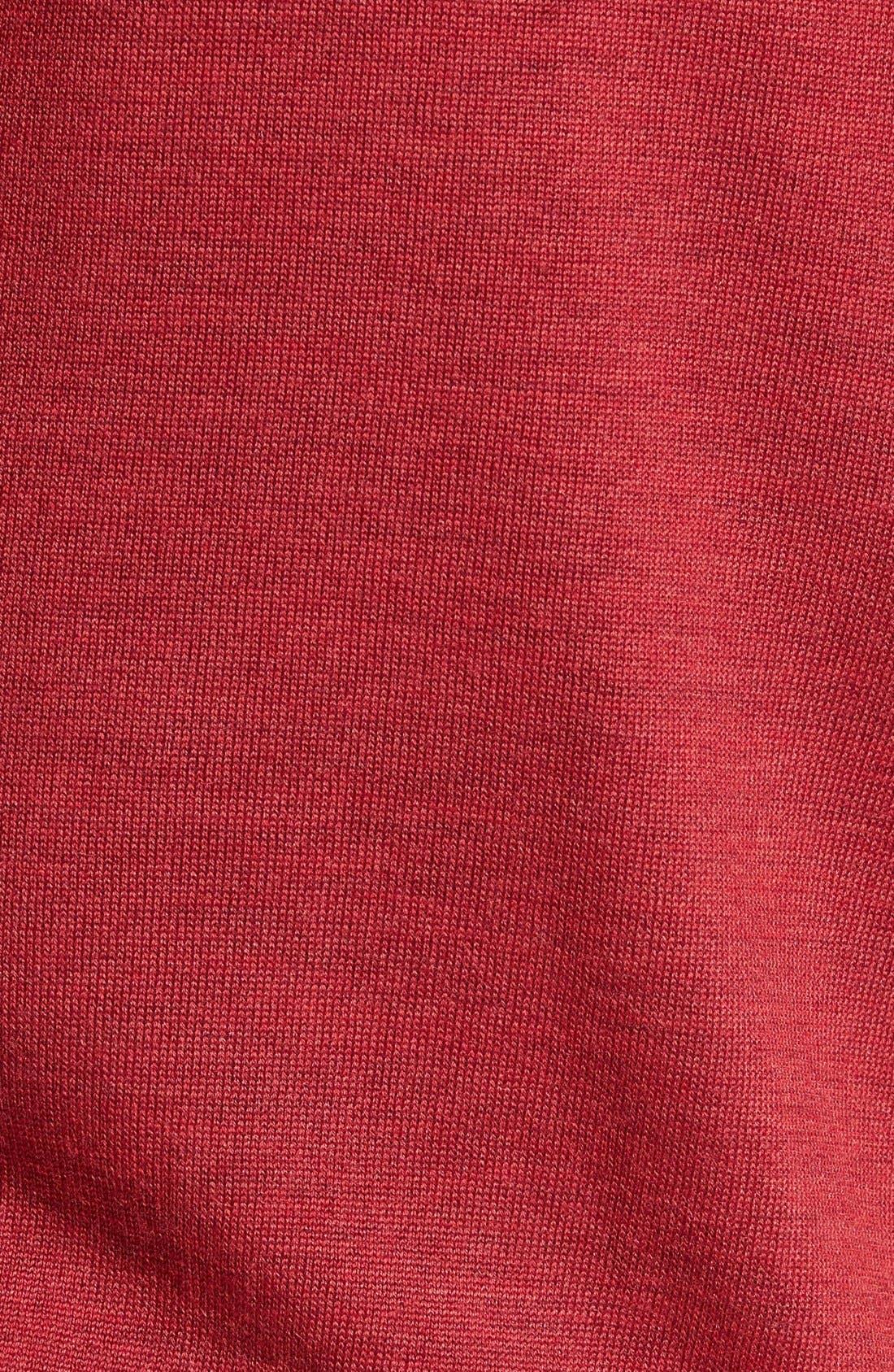 Douglas Quarter Zip Wool Blend Sweater,                             Alternate thumbnail 30, color,