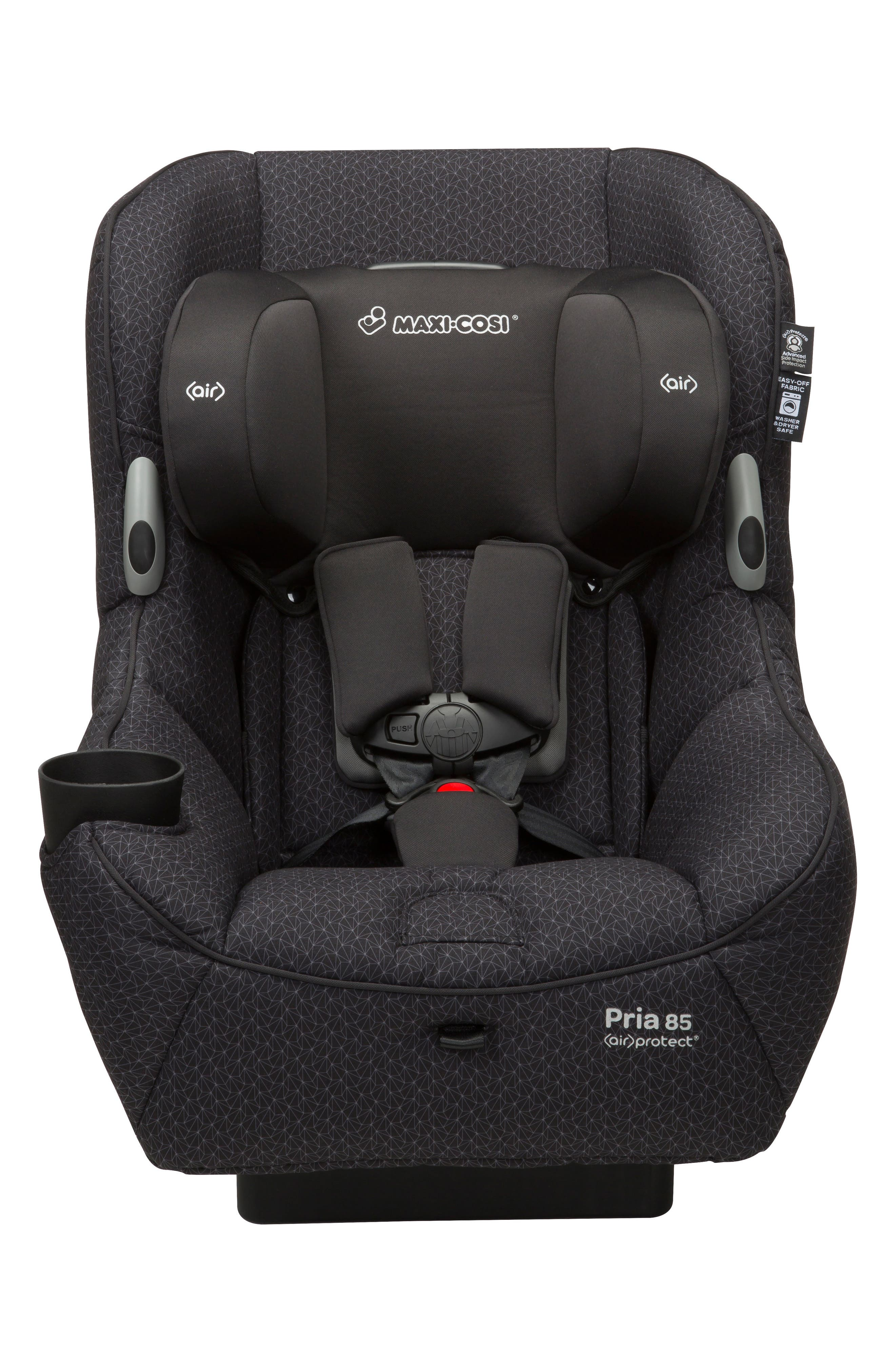 Pria<sup>™</sup> 85 Black Crystal Special Edition Car Seat,                             Alternate thumbnail 2, color,