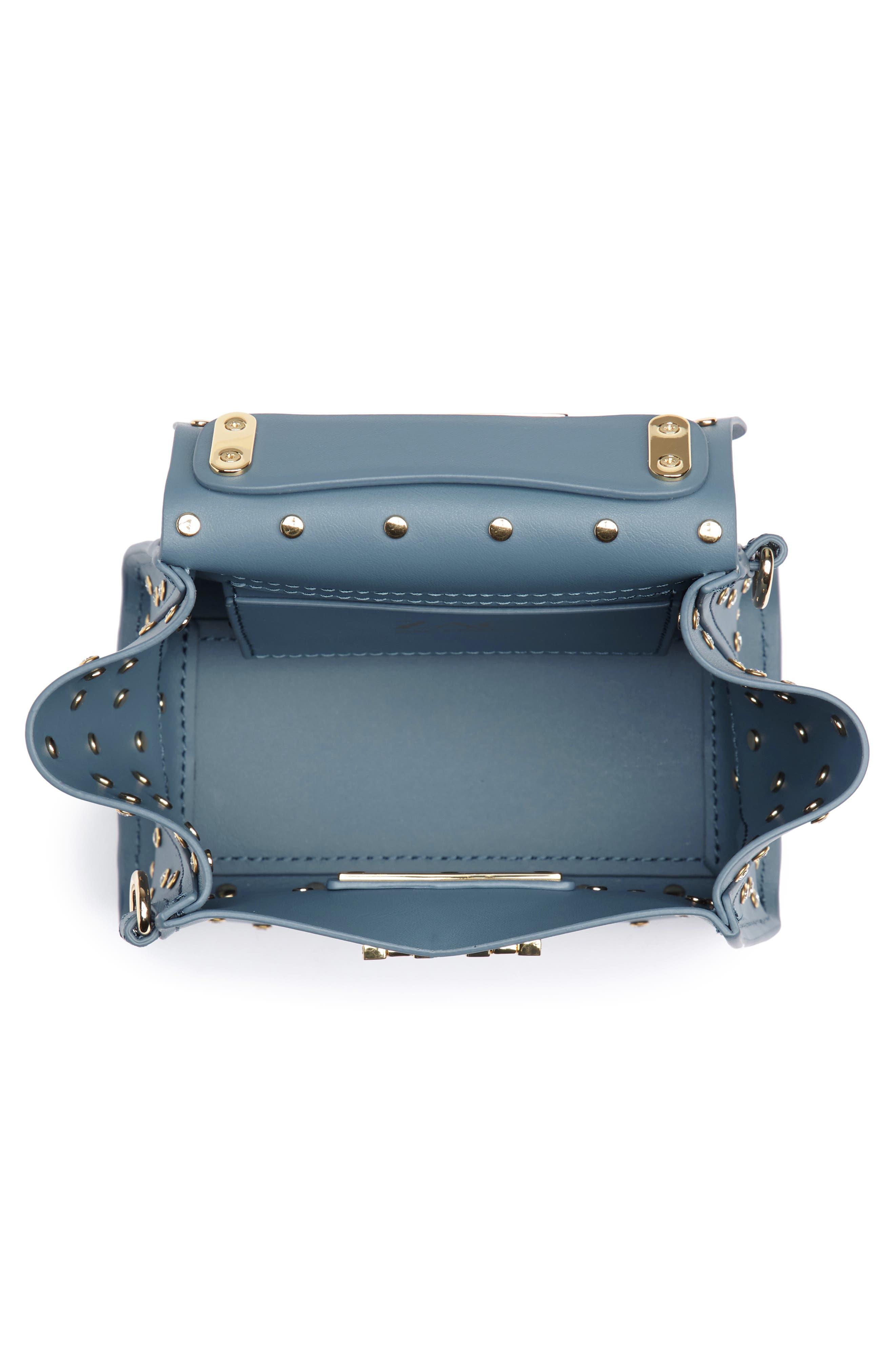 Mini Eartha Crystal Top Handle Bag,                             Alternate thumbnail 4, color,                             420