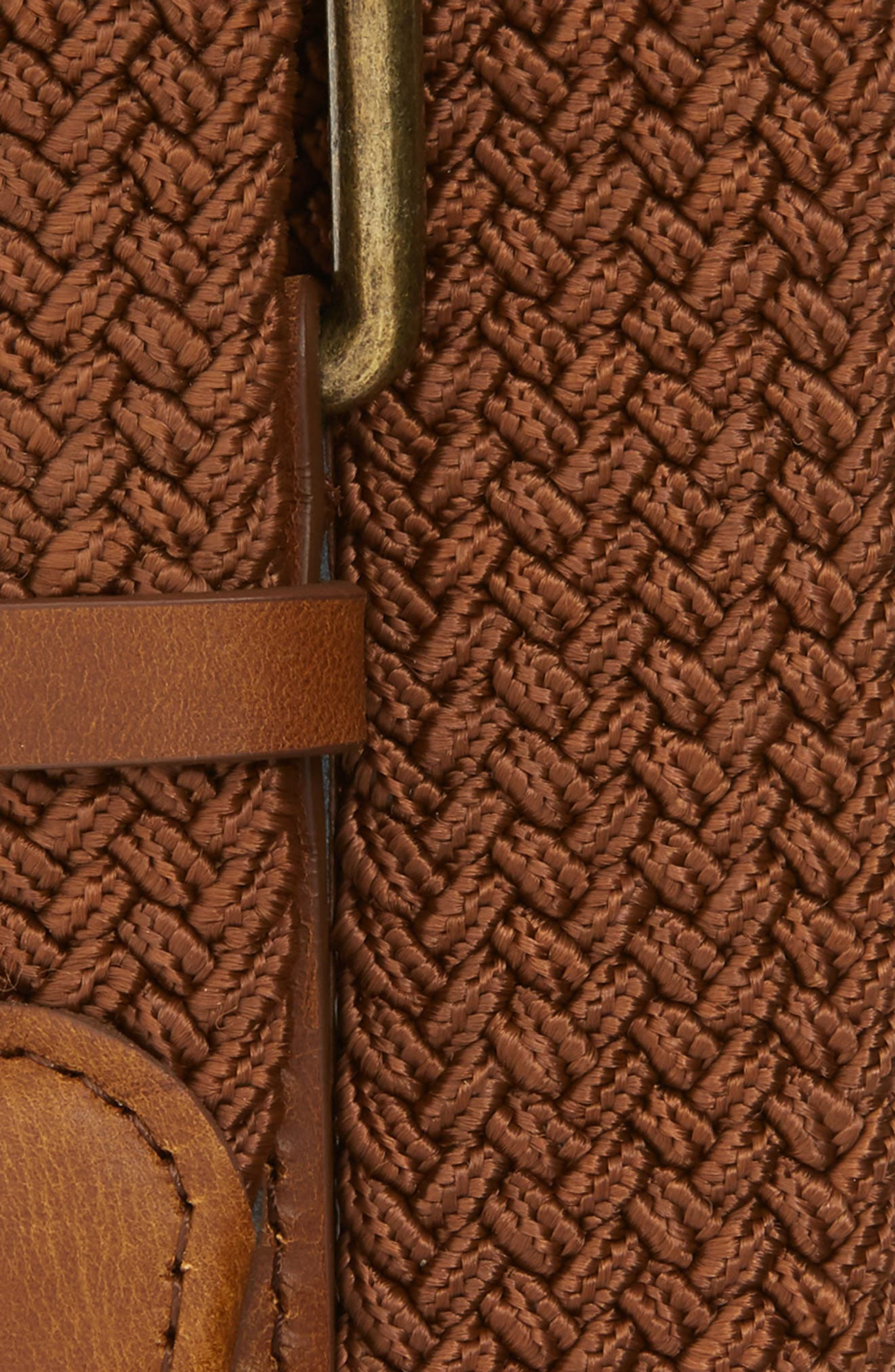 Hudson Belt,                             Alternate thumbnail 2, color,                             BROWN/ CARAMEL