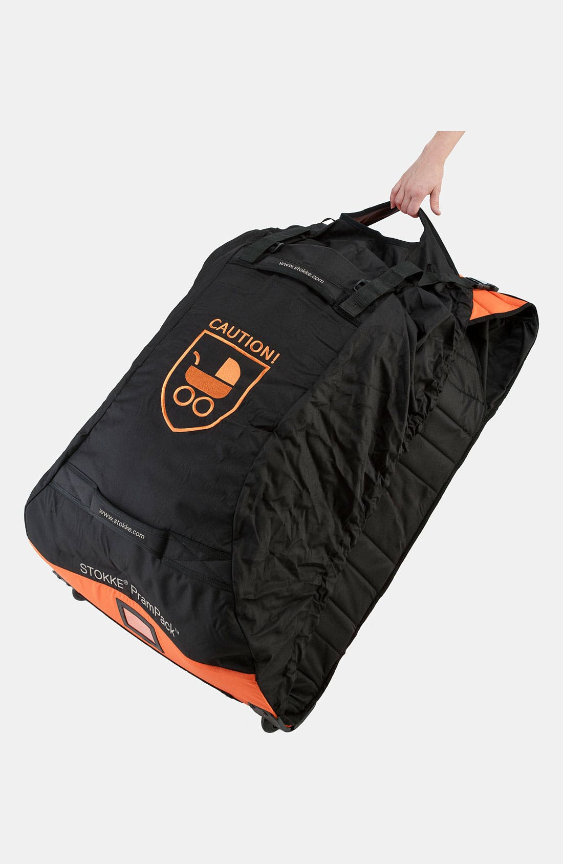 Pram Pack<sup>™</sup>,                             Alternate thumbnail 2, color,                             ORANGE/ BLACK