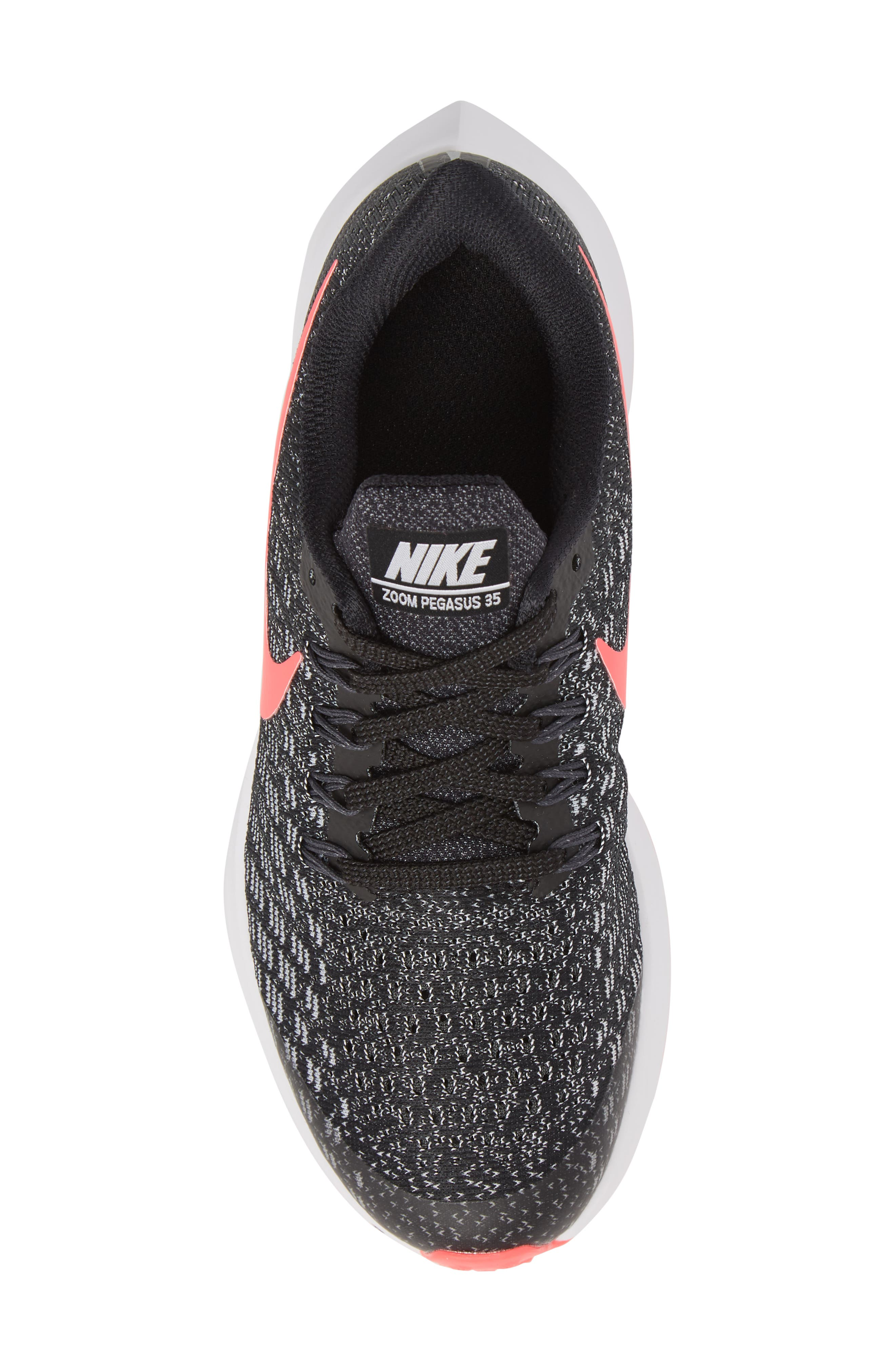 Air Zoom Pegasus 35 Sneaker,                             Alternate thumbnail 5, color,                             RACER PINK/ WHITE/ ANTHRACITE