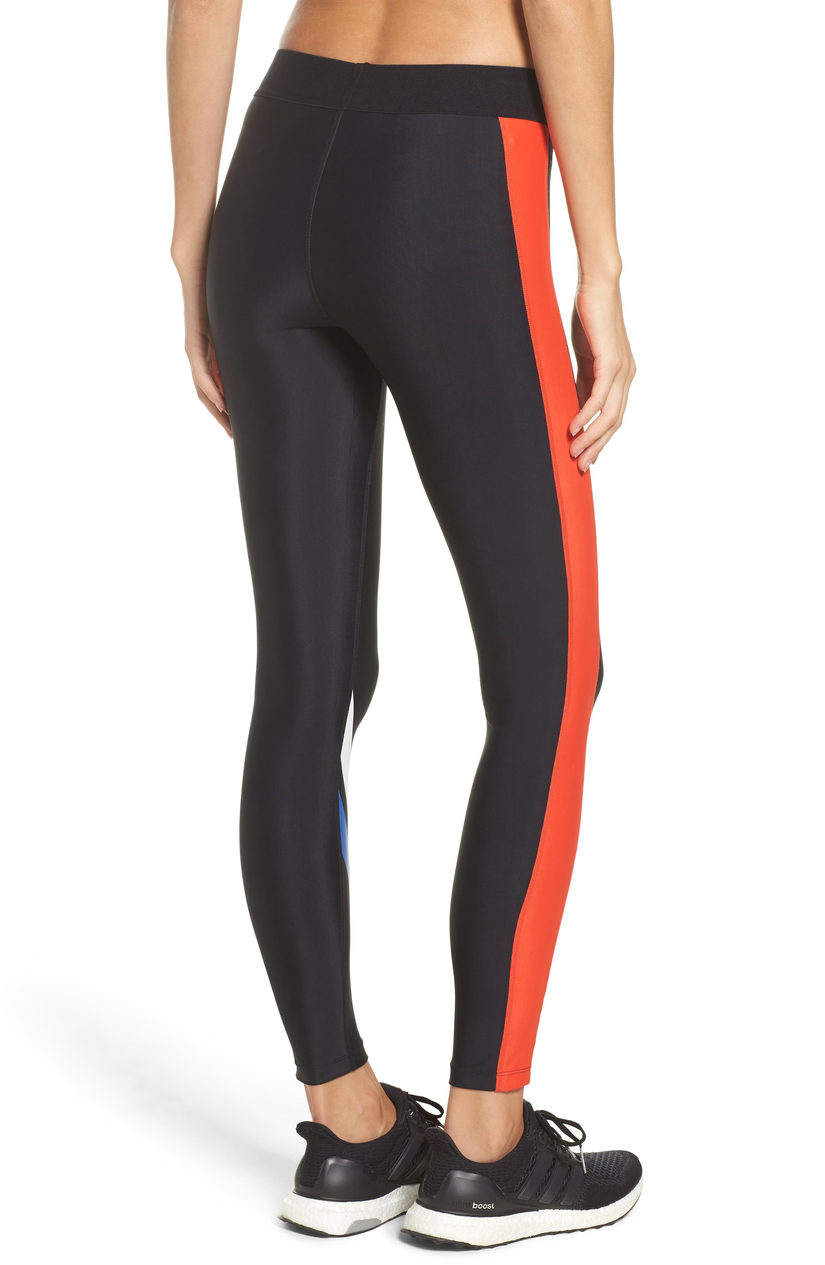 The Knock Out Leggings,                             Alternate thumbnail 2, color,                             001