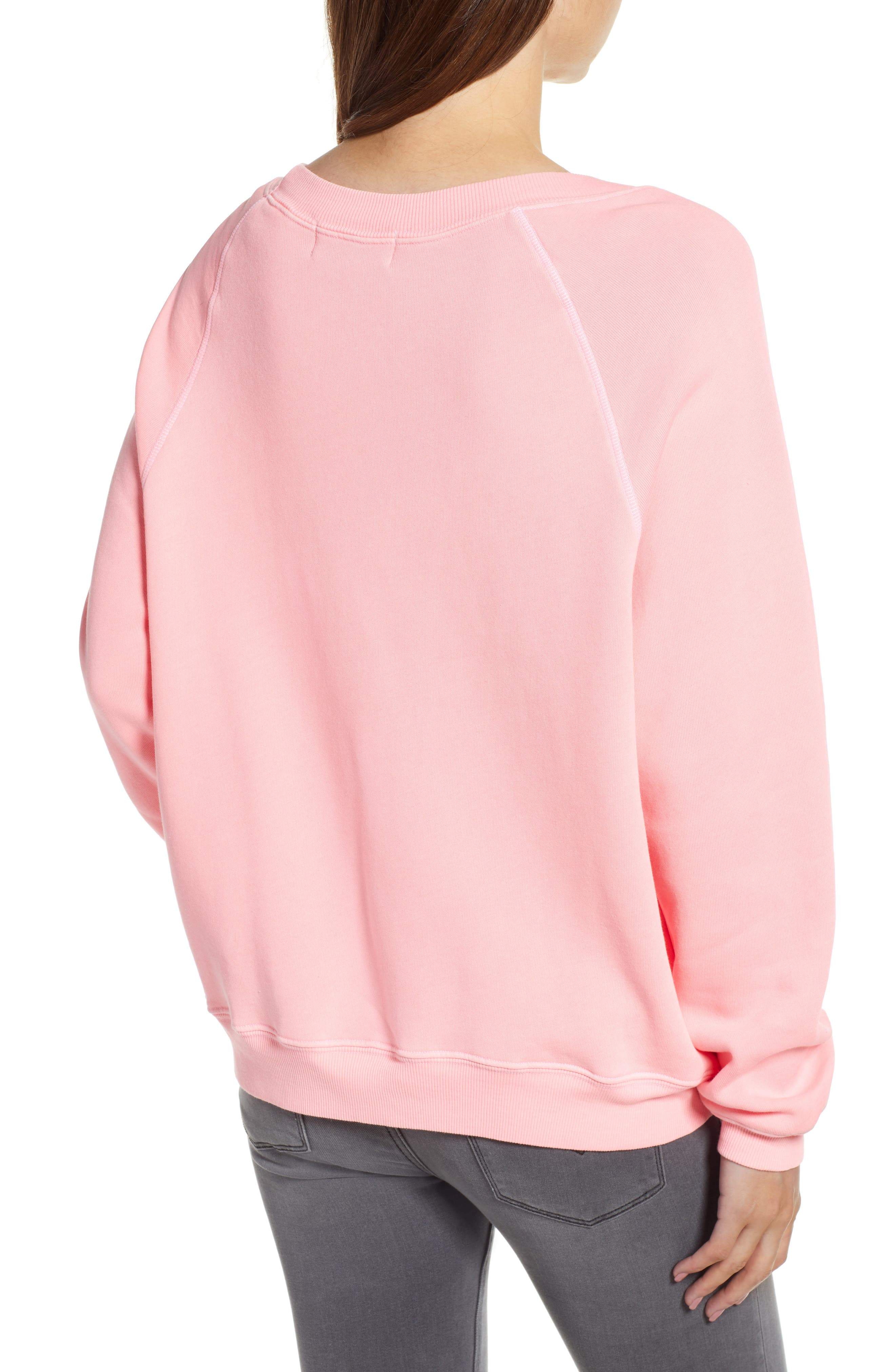 Open Me First Sommers Sweatshirt,                             Alternate thumbnail 2, color,                             NEON SIGN