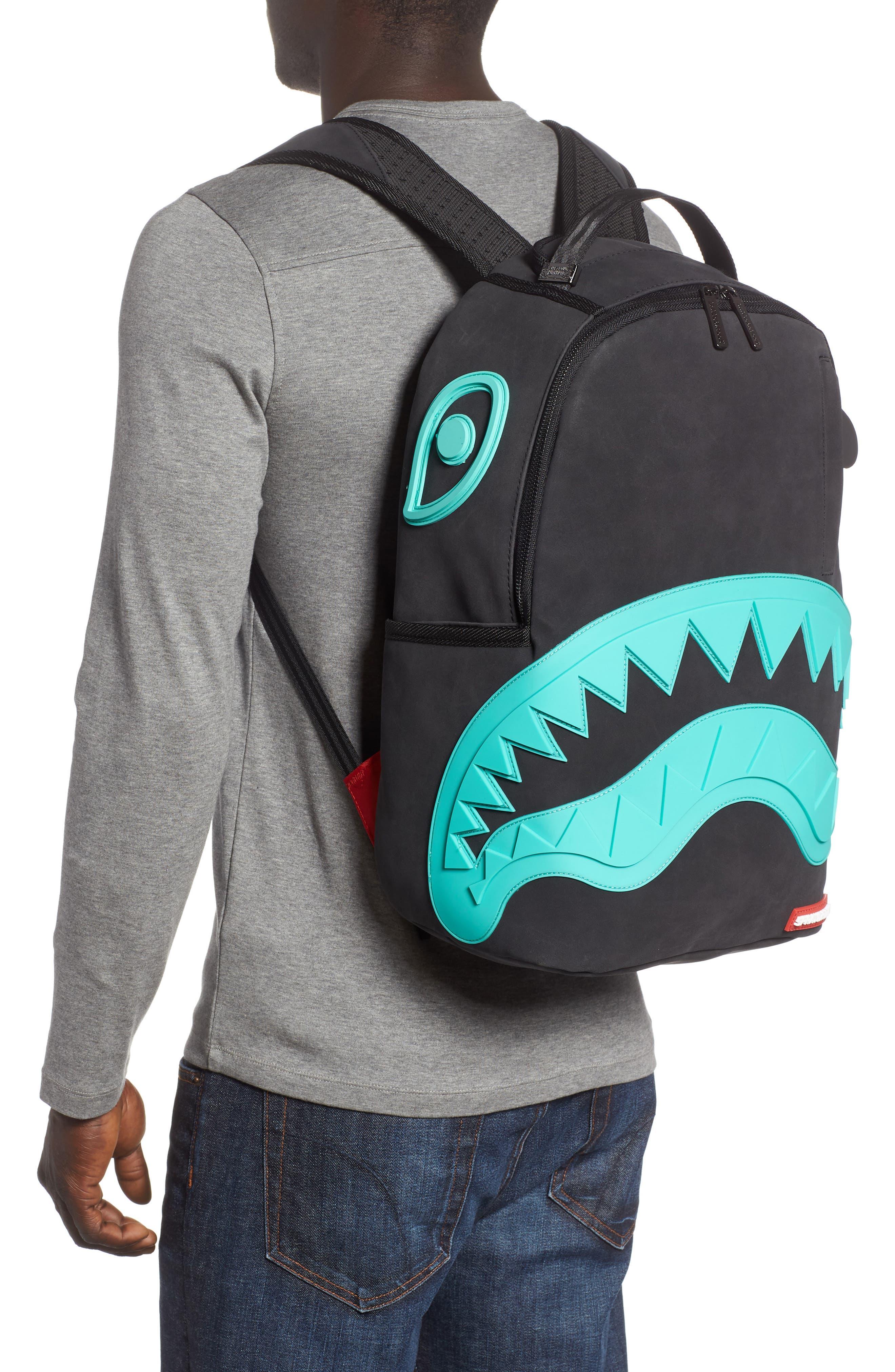 Tiff Shark Backpack,                             Alternate thumbnail 2, color,