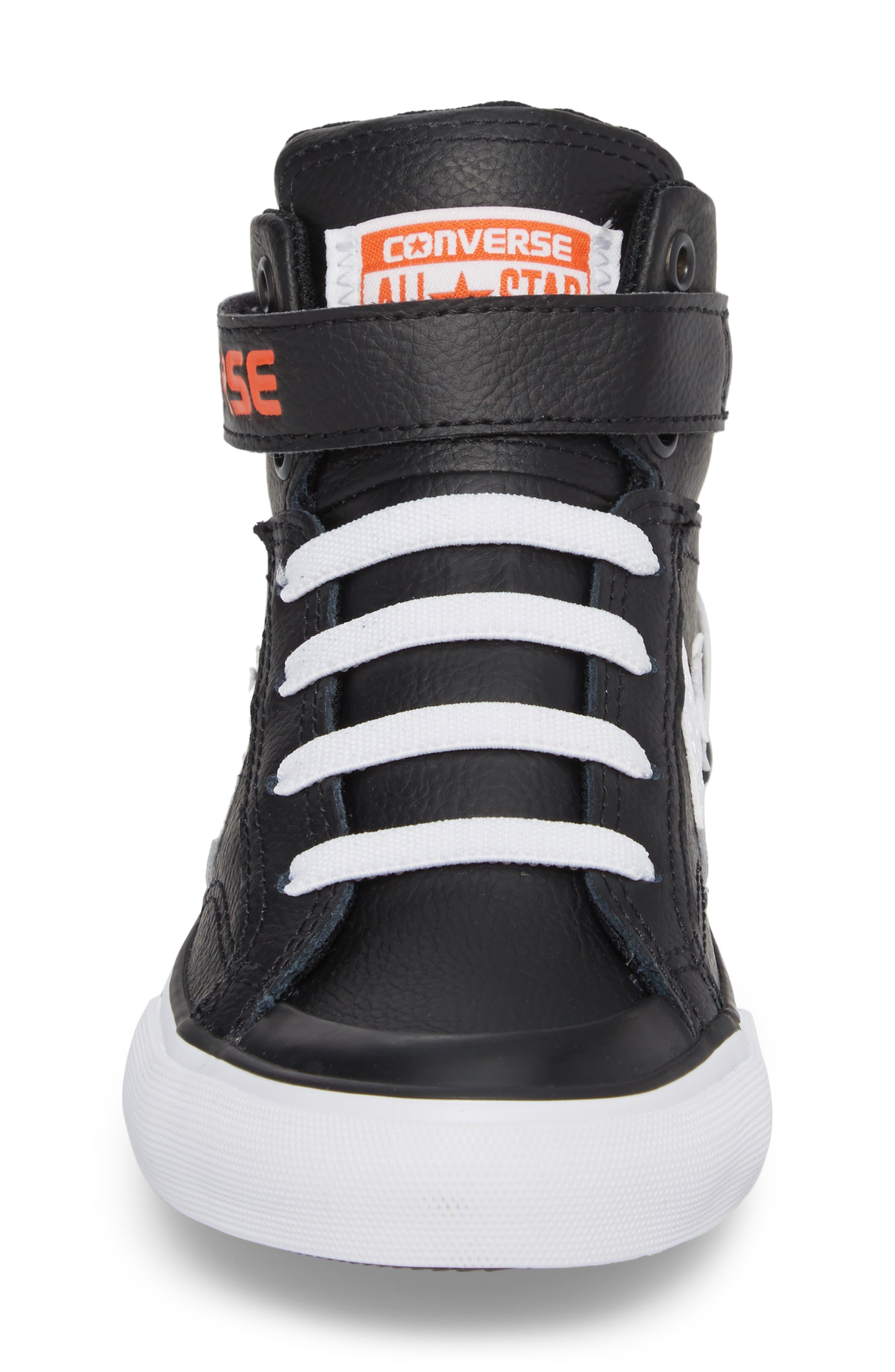 Pro Blaze High Top Sneaker,                             Alternate thumbnail 4, color,                             001