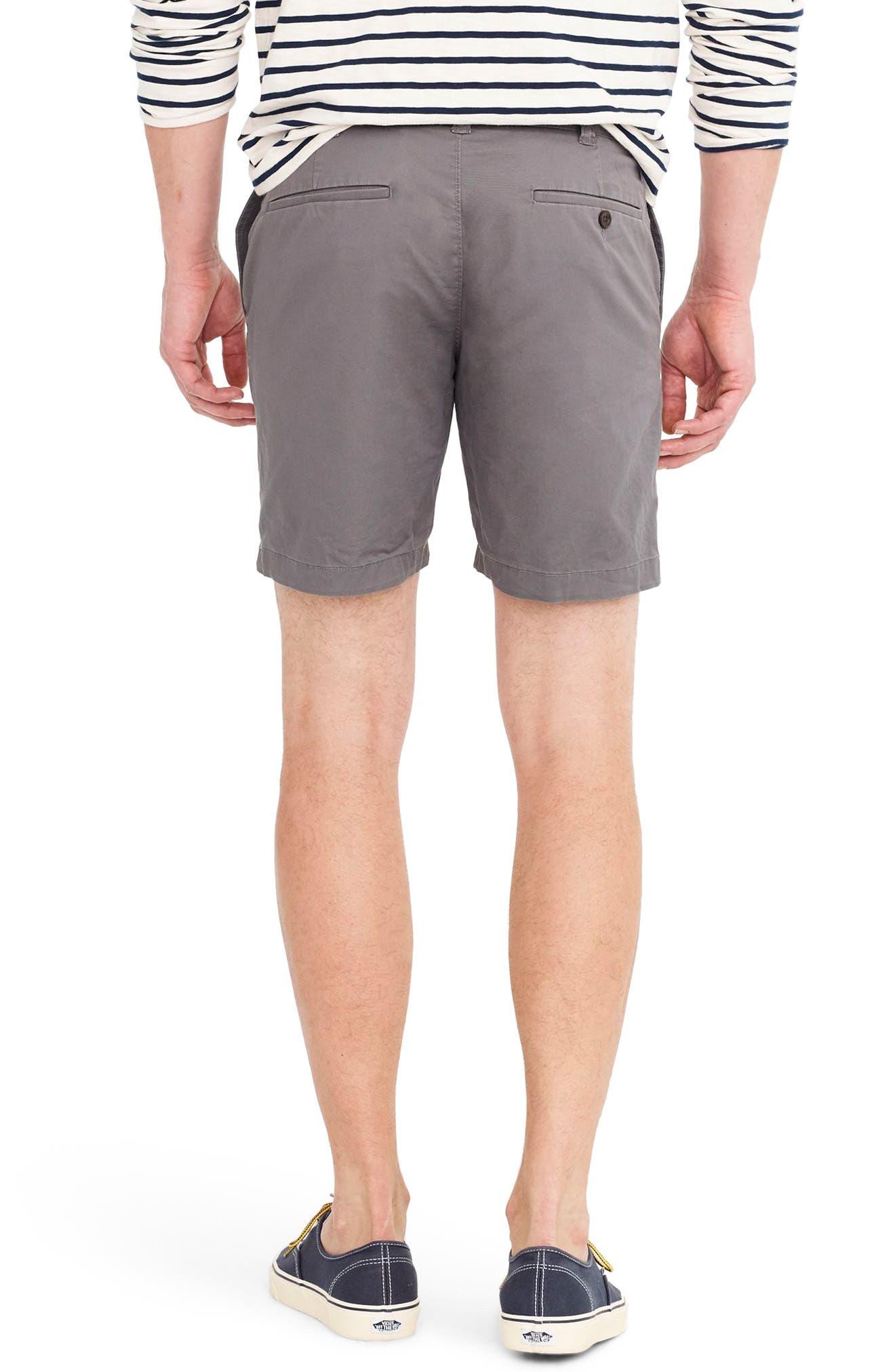 Stretch Cotton Shorts,                             Alternate thumbnail 5, color,