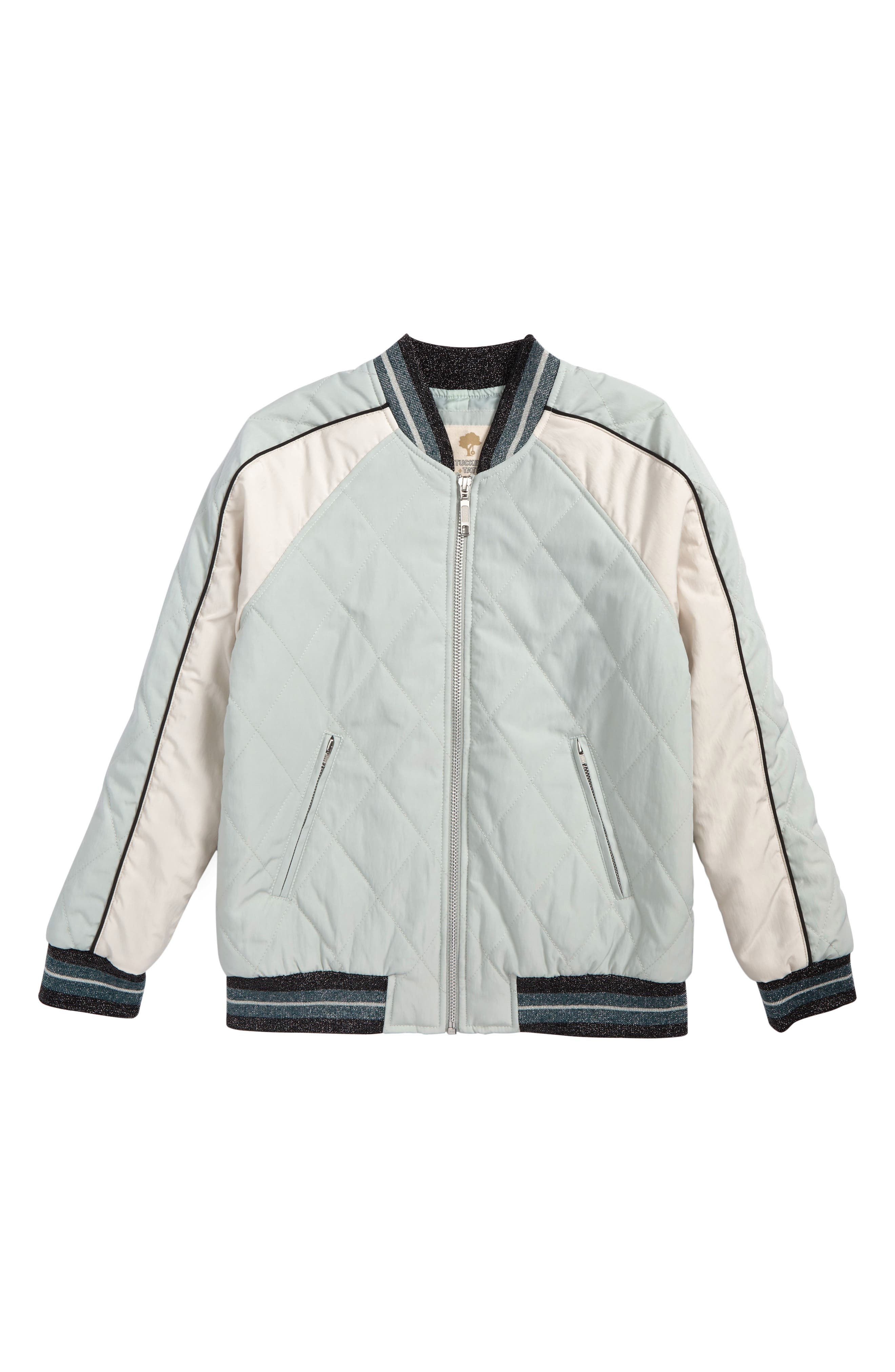 Colorblock Bomber Jacket,                         Main,                         color, 310