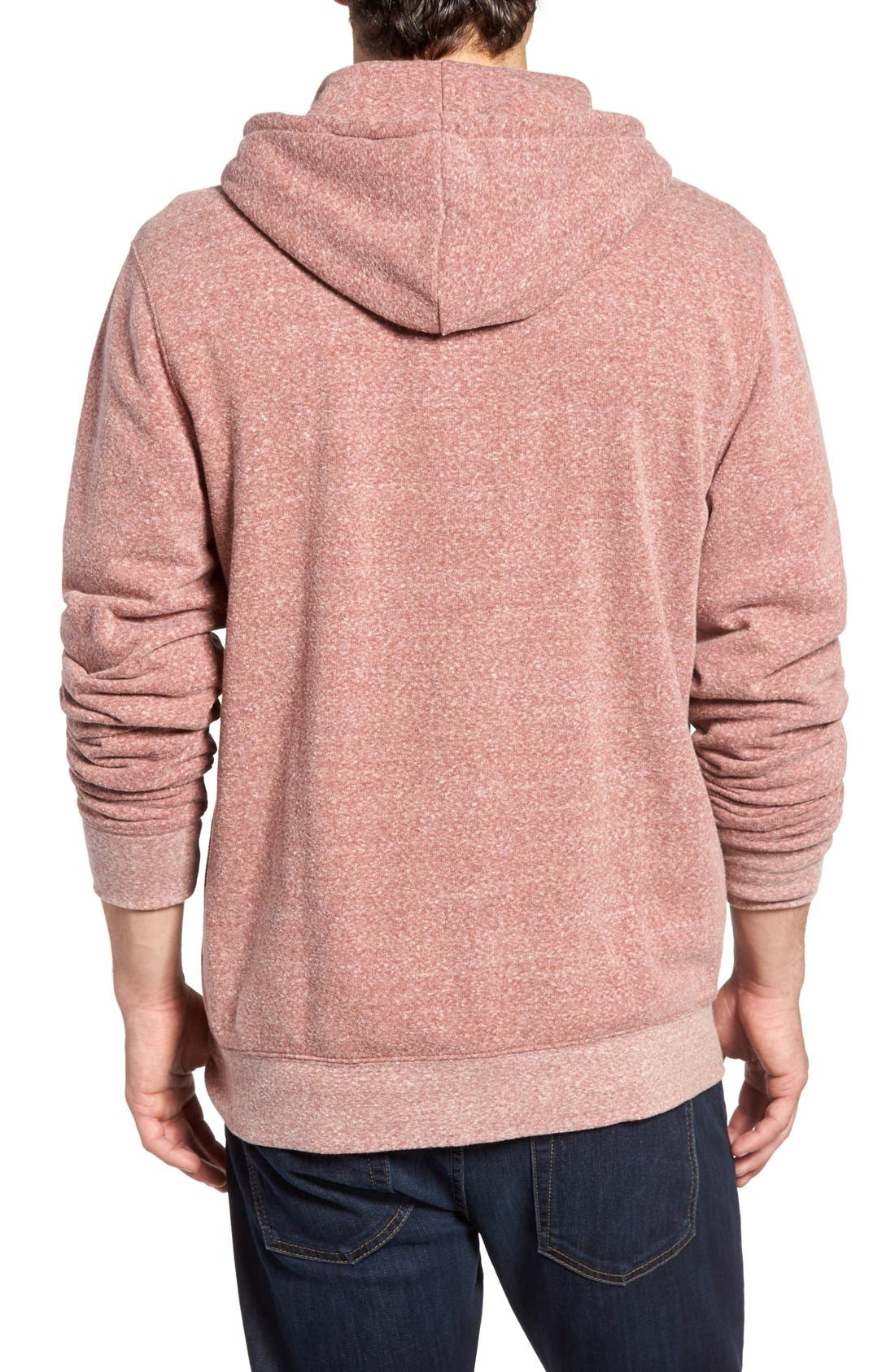 Threads for Thought Trim Fit Heathered Hoodie,                             Main thumbnail 26, color,