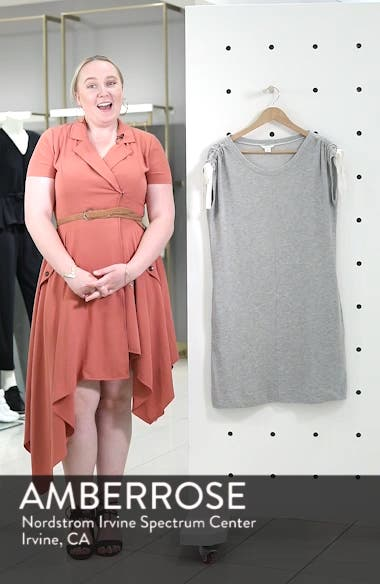 Tie Shoulder Shift Dress, sales video thumbnail