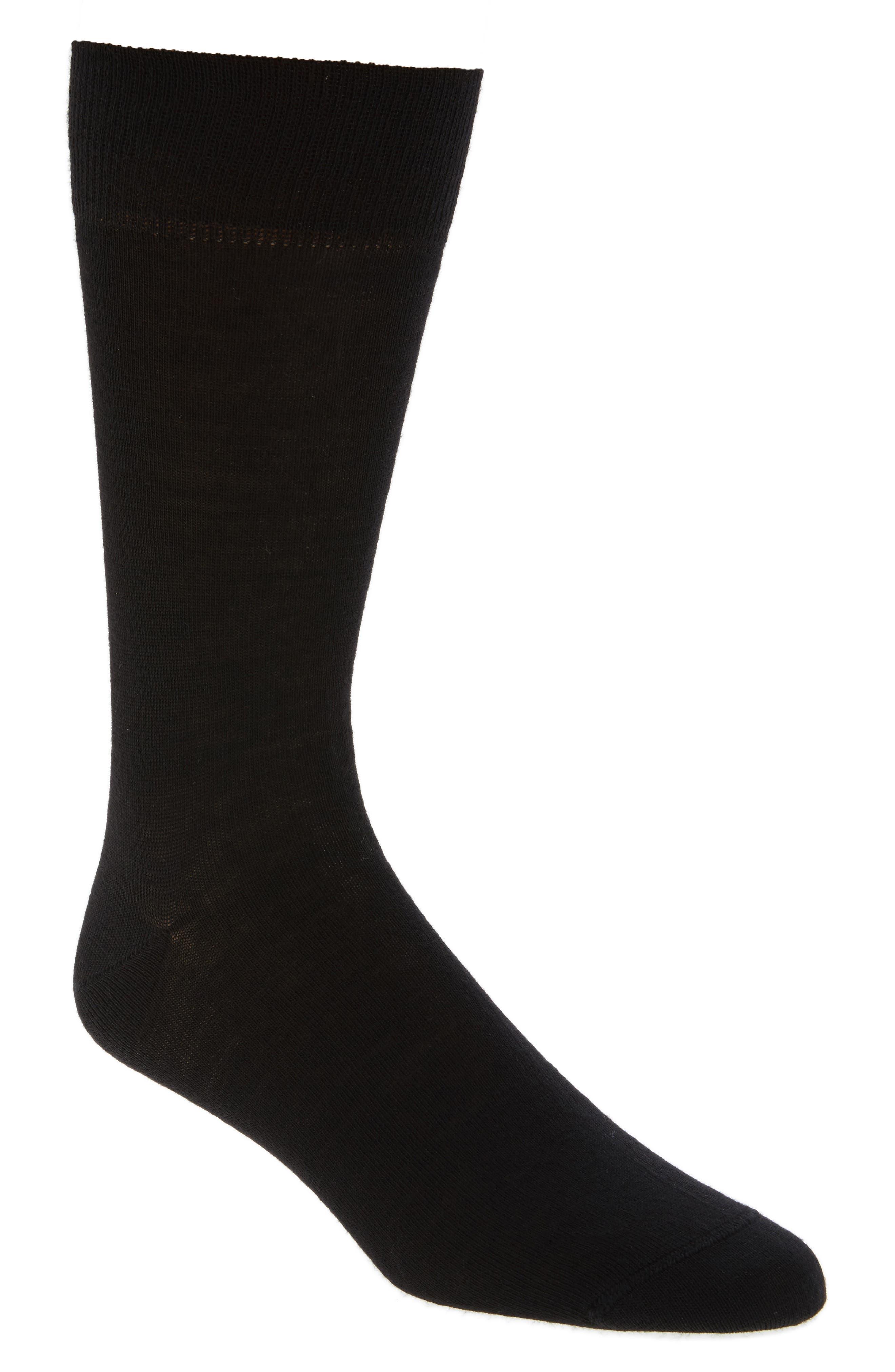 Merino Wool Blend Socks,                         Main,                         color, 001