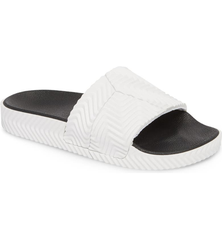 newest a97cd 0becf ADIDAS BY ALEXANDER WANG AW Adilette Slide, Main, color, 101