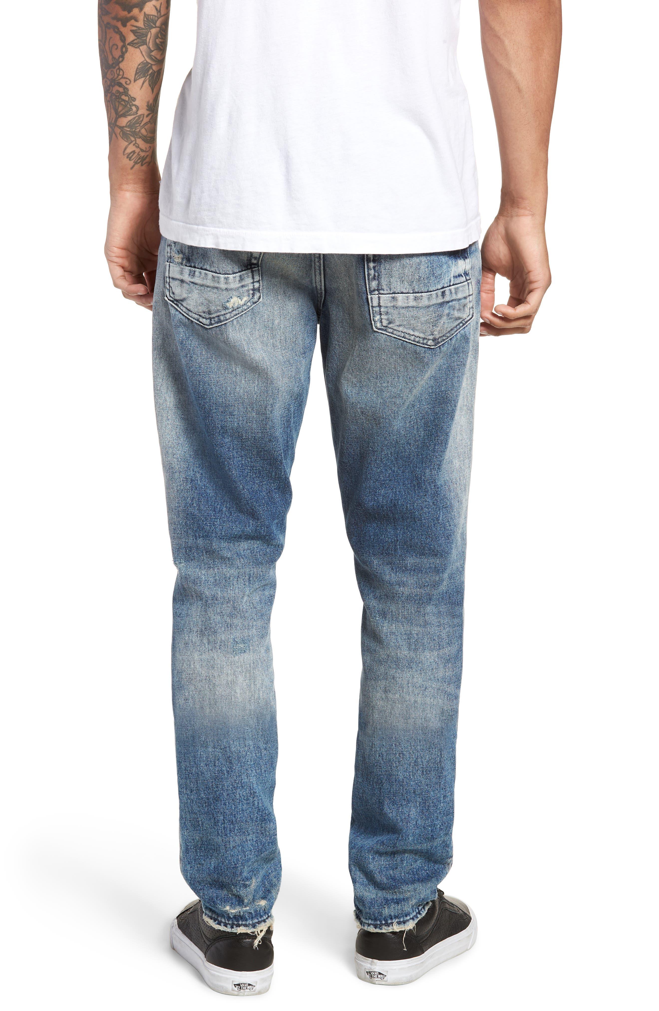 Demon Slim Straight Leg Jeans,                             Alternate thumbnail 2, color,                             MEXICO