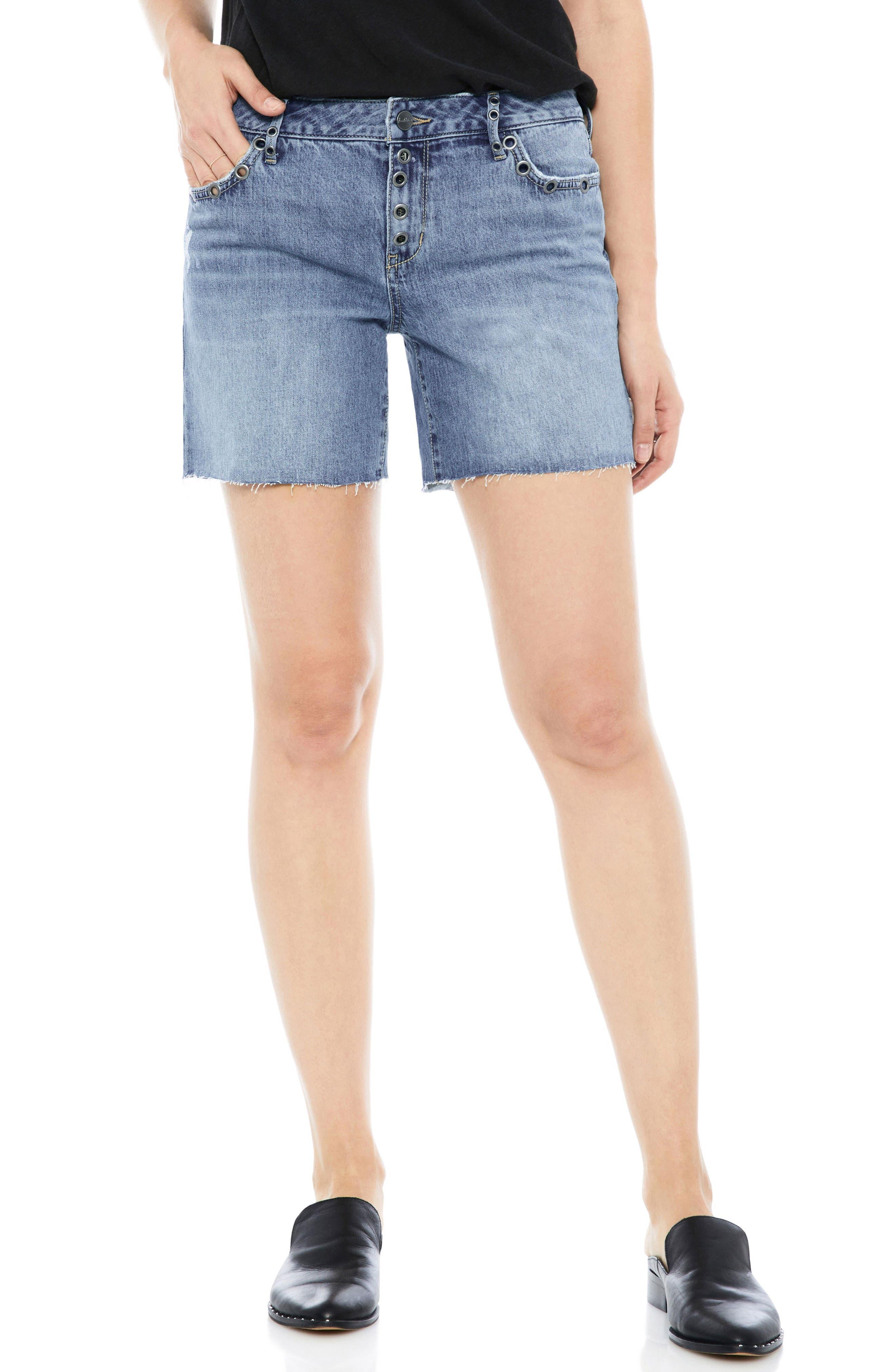 The Derby Grommet Bermuda Shorts,                             Main thumbnail 1, color,                             450
