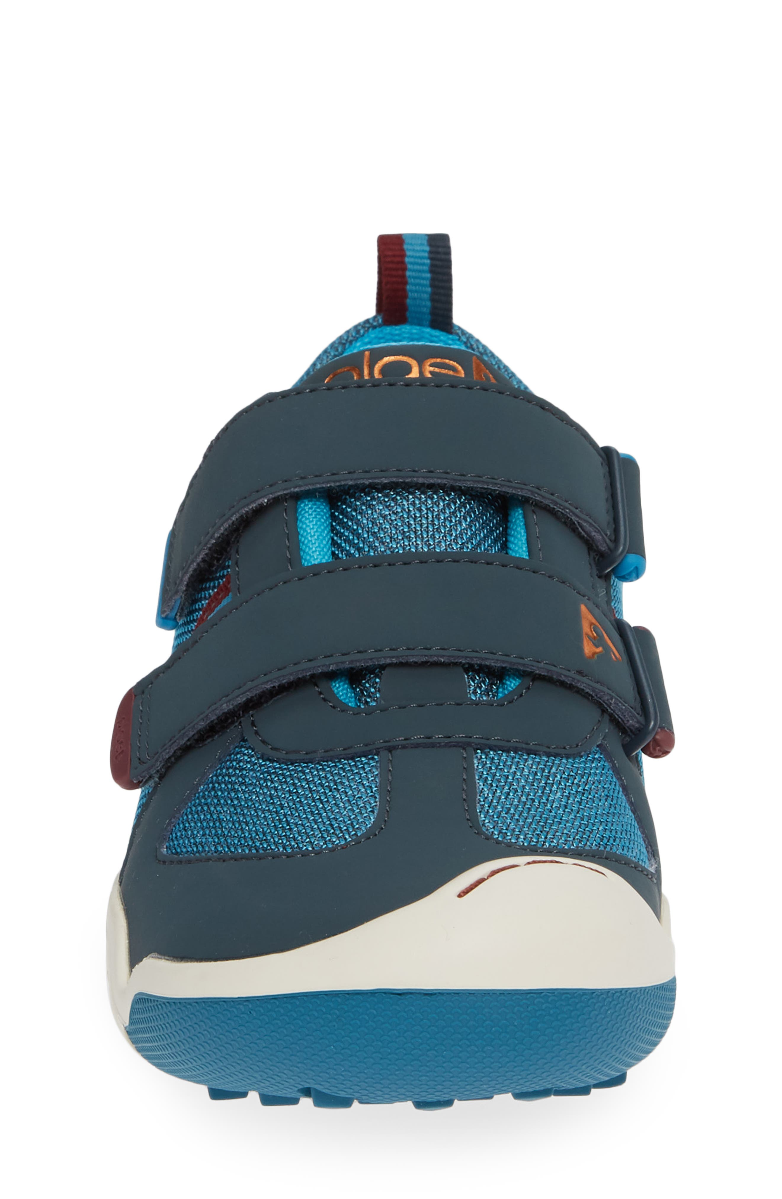 Charlie Customizable Sneaker,                             Alternate thumbnail 4, color,                             BLUE MARLIN
