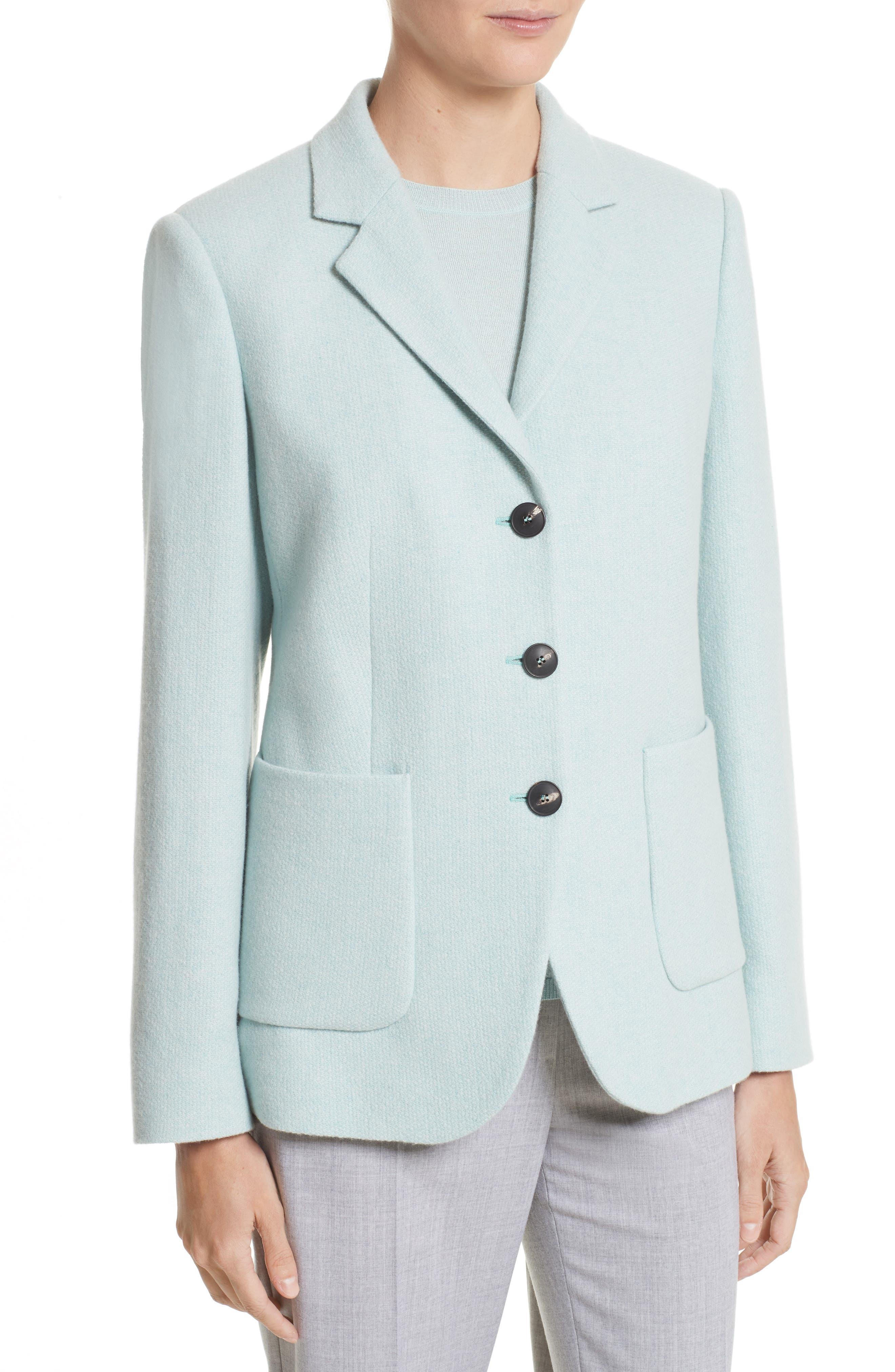Pola Cashmere Jacket,                             Alternate thumbnail 4, color,                             401