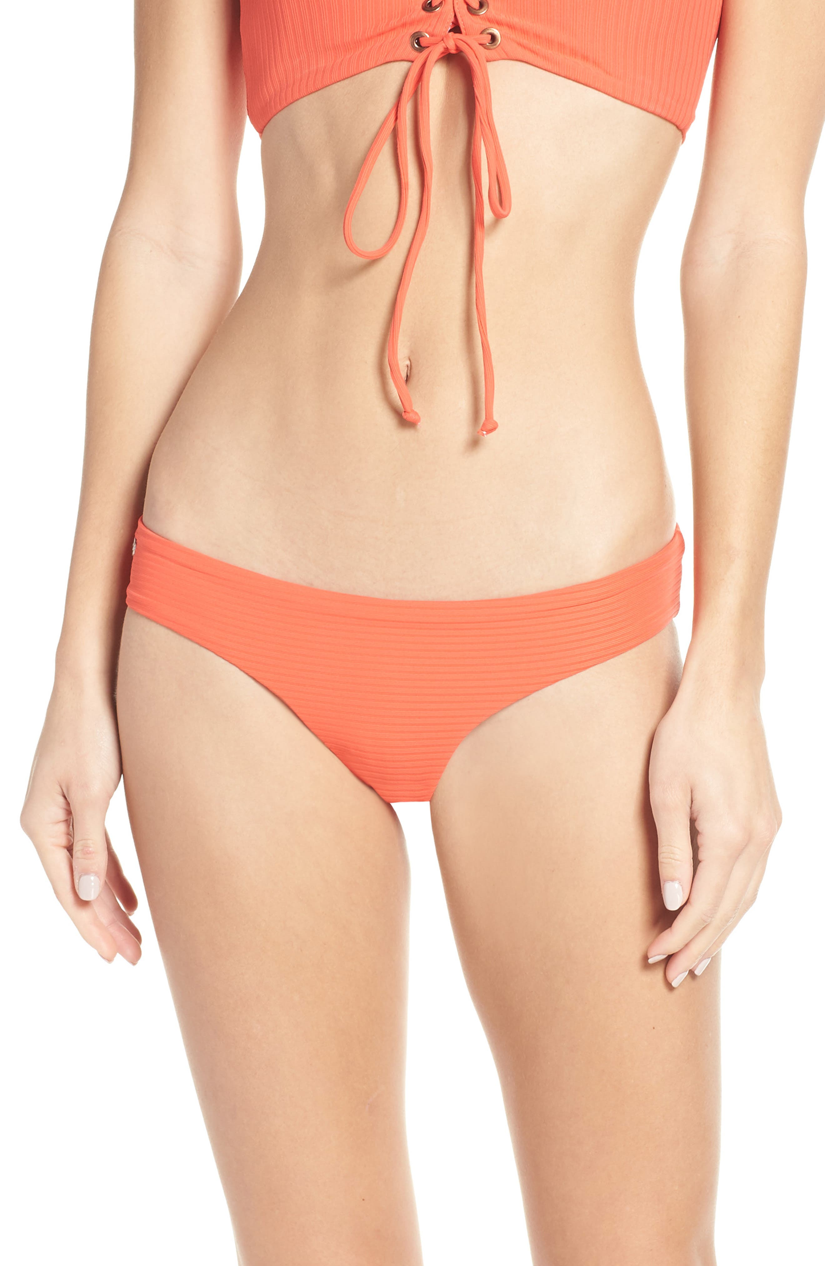 Maaji Cayenne Sublime Reversible Bikini Bottoms, Red