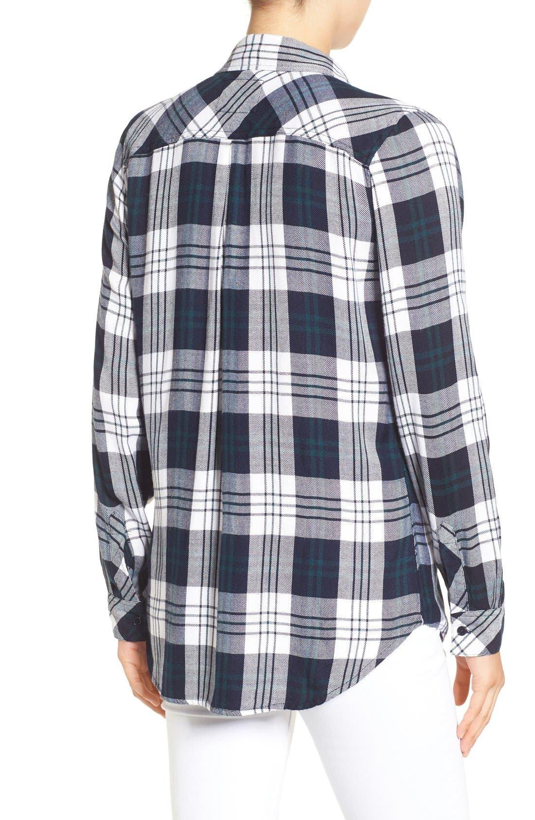 Hunter Plaid Shirt,                             Alternate thumbnail 386, color,