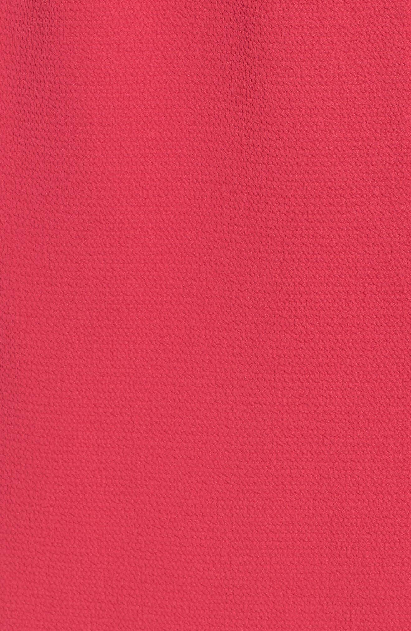 Stretch Crepe Dress,                             Alternate thumbnail 26, color,