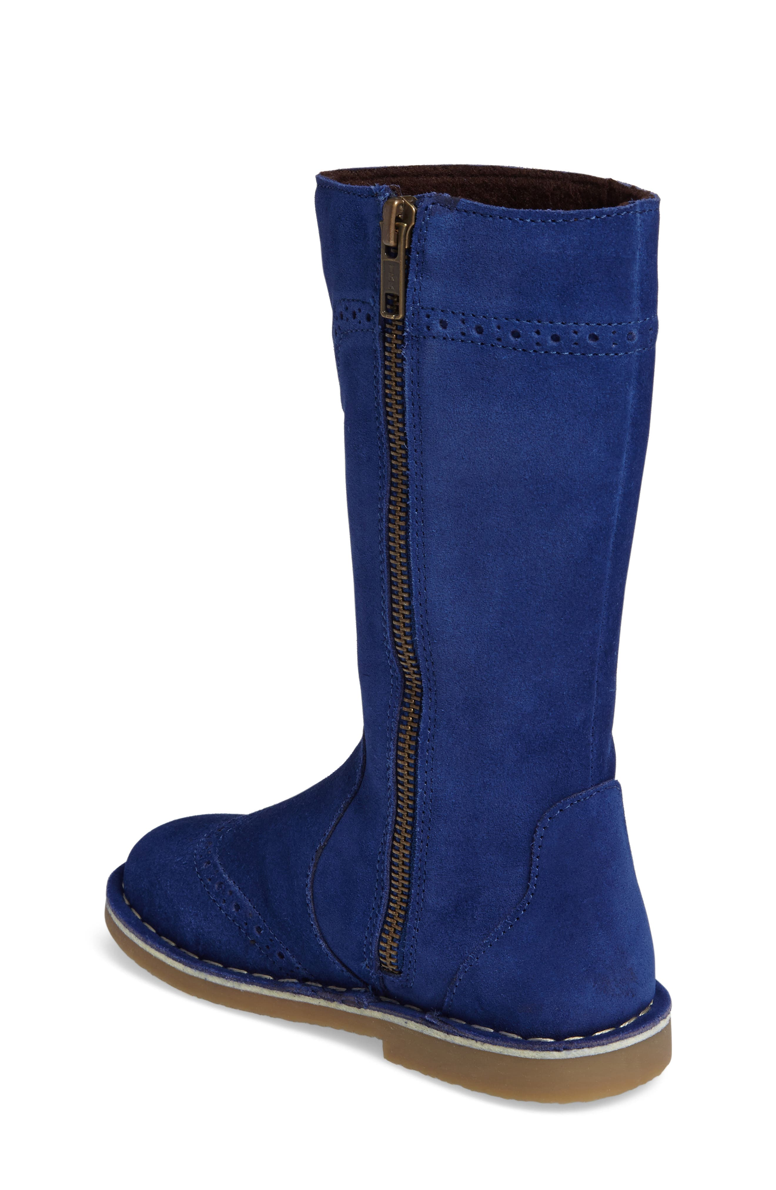 Tall Leather Boot,                             Alternate thumbnail 10, color,