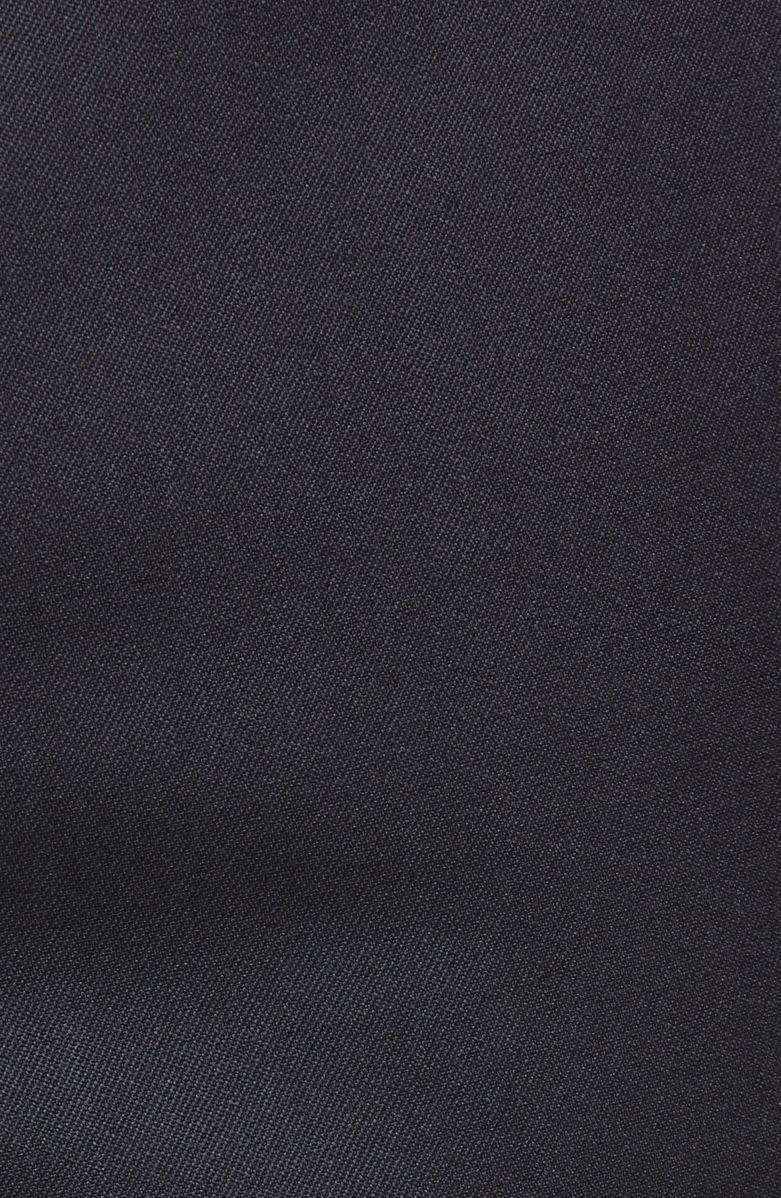 Torino Flat Front Wool Gabardine Trousers,                             Alternate thumbnail 29, color,
