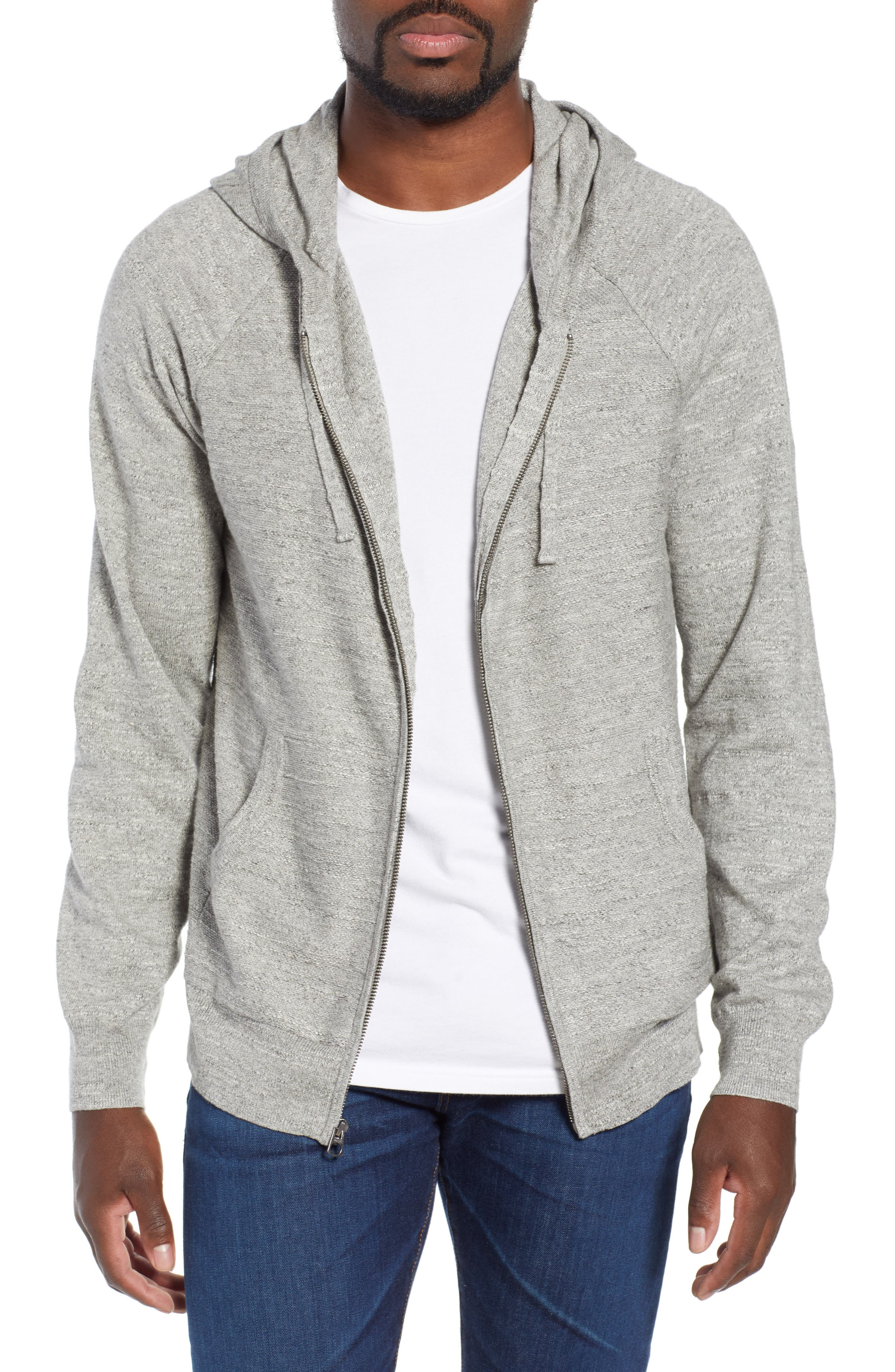 Rugged Raglan Sleeve Cotton Hoodie, Main, color, 020