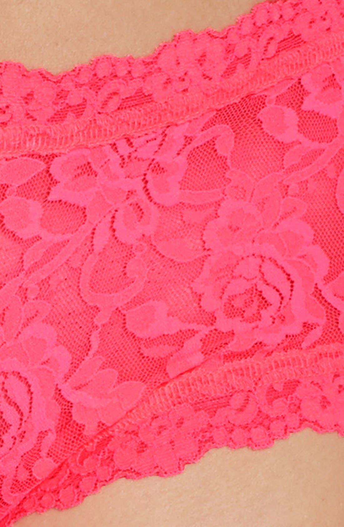 'Signature Lace' Boyshorts,                             Alternate thumbnail 343, color,