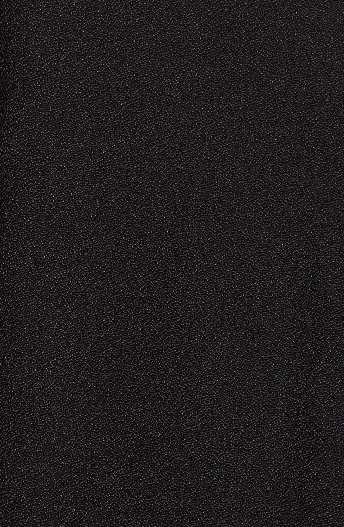 Chelsea Lattice Back Fit & Flare Dress,                             Alternate thumbnail 17, color,