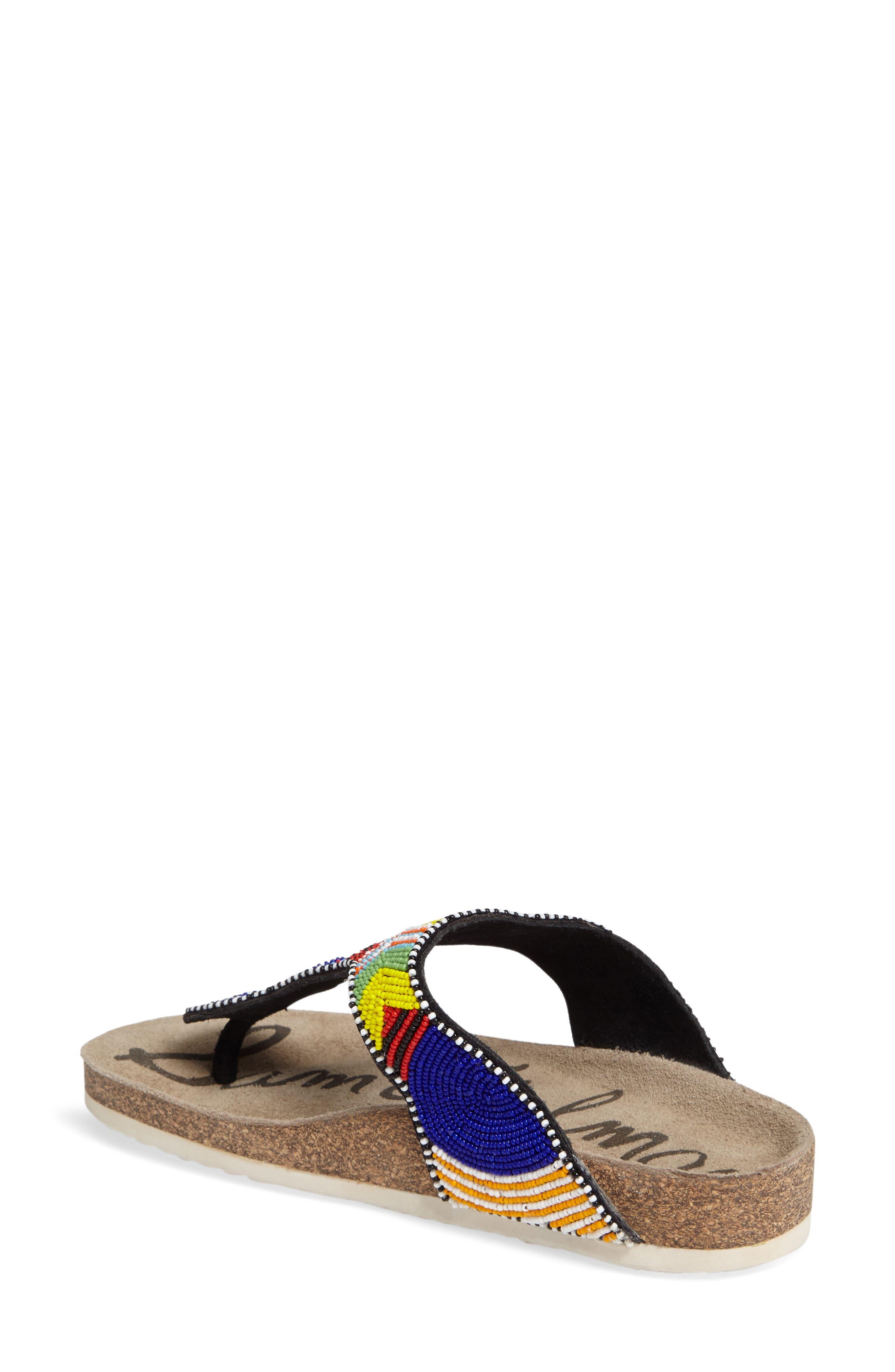 Olivie Beaded Flip Flop,                             Alternate thumbnail 20, color,