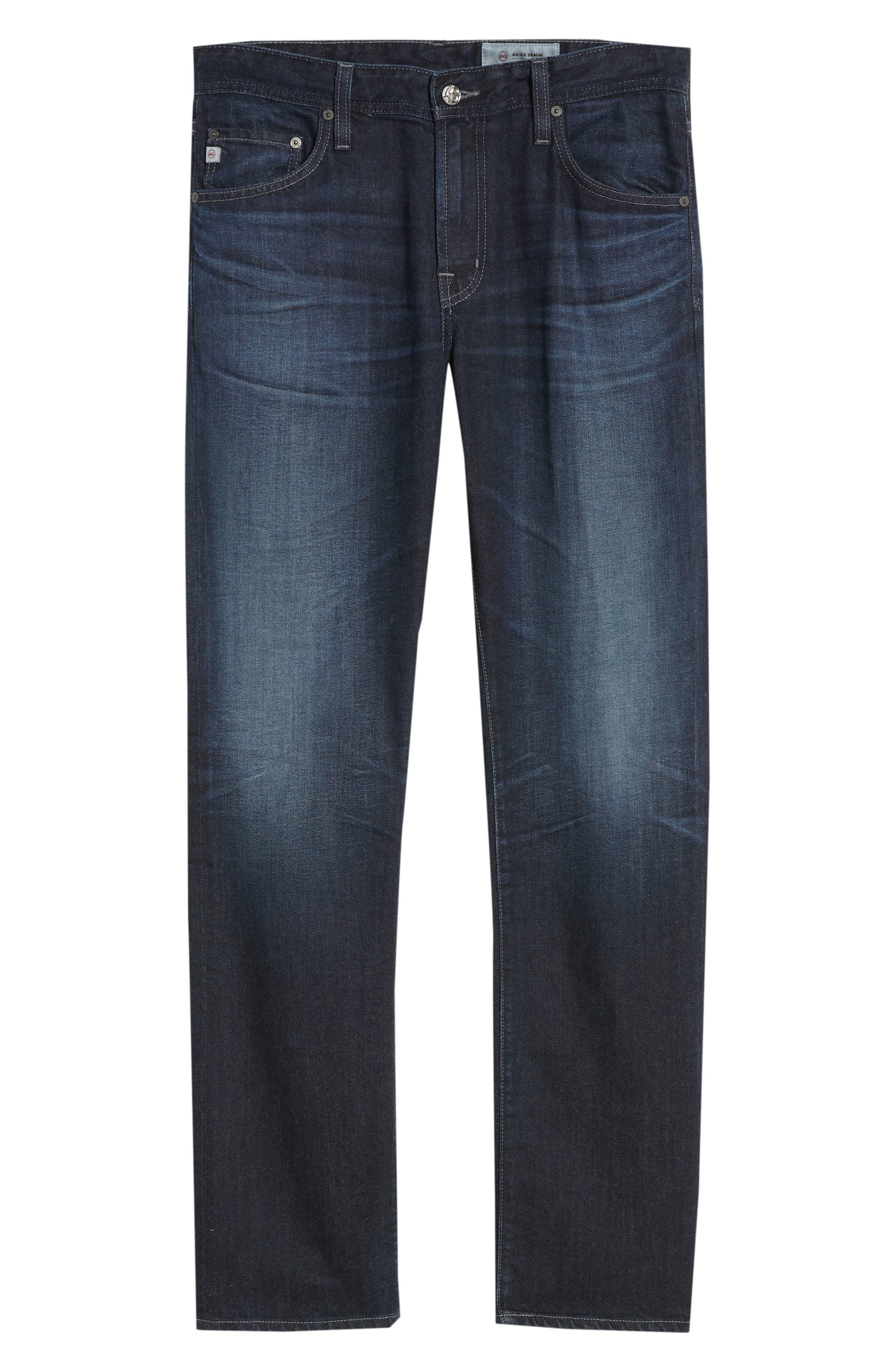 Graduate Slim Straight Leg Jeans,                             Alternate thumbnail 6, color,                             486