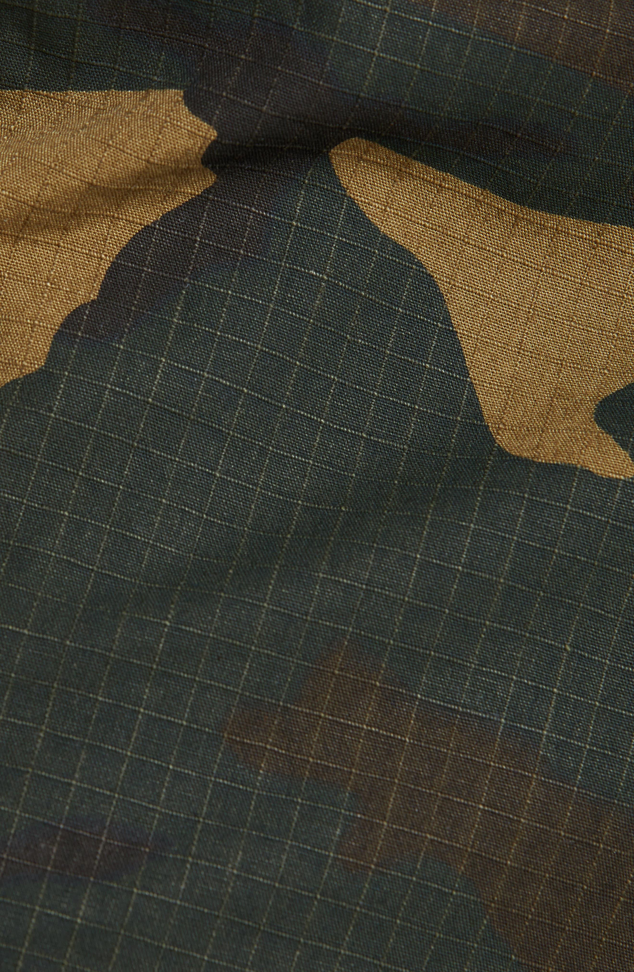 Aviation Cargo Pants,                             Alternate thumbnail 5, color,                             CAMO LAUREL
