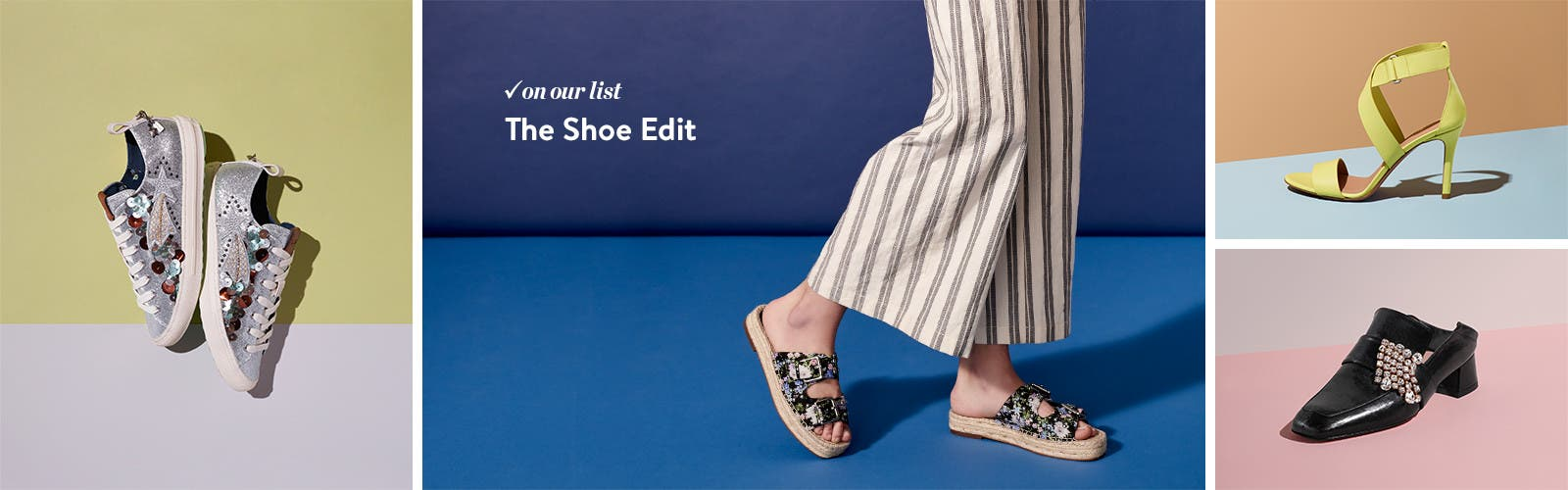 The shoe edit: women's trends.