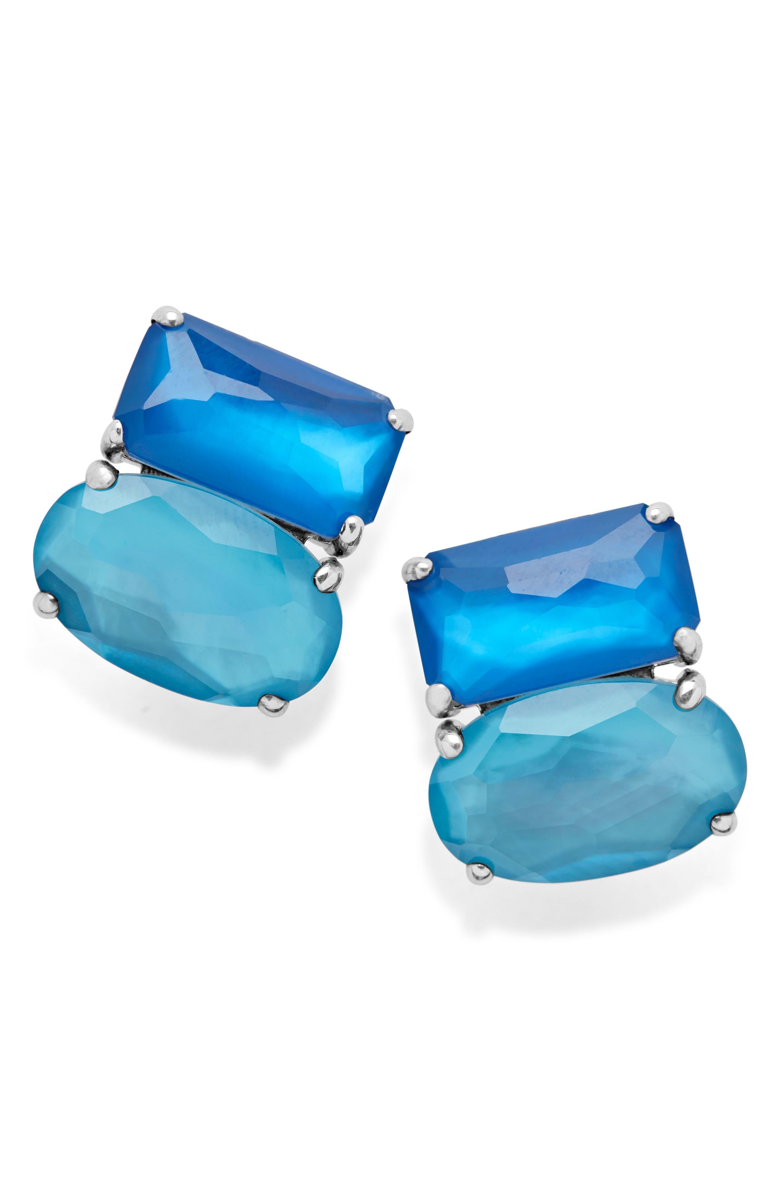 Wonderland Cluster Stud Earrings,                         Main,                         color, 400