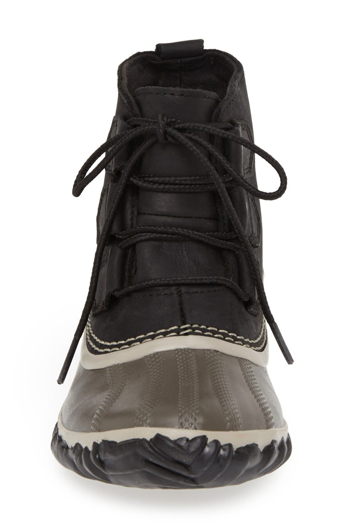 'Out N About' Leather Boot,                             Alternate thumbnail 25, color,
