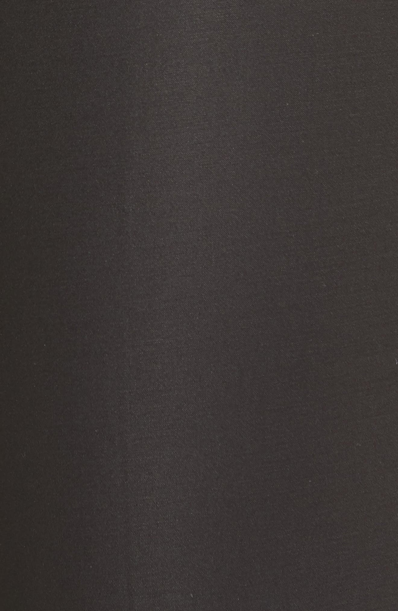 The Perfect Slim Ankle Pants,                             Alternate thumbnail 5, color,                             BLACK ONYX