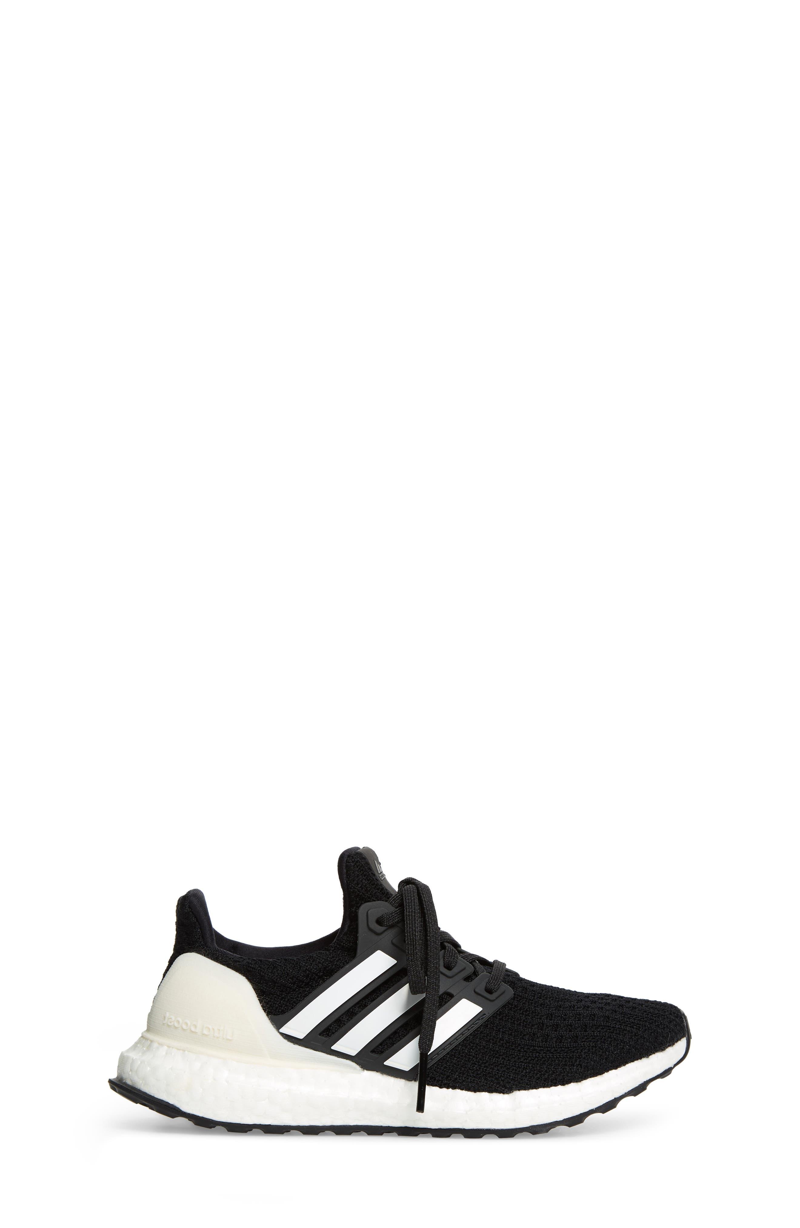 UltraBoost Sneaker,                             Alternate thumbnail 3, color,                             BLACK/ CLOUD WHITE/ CARBON