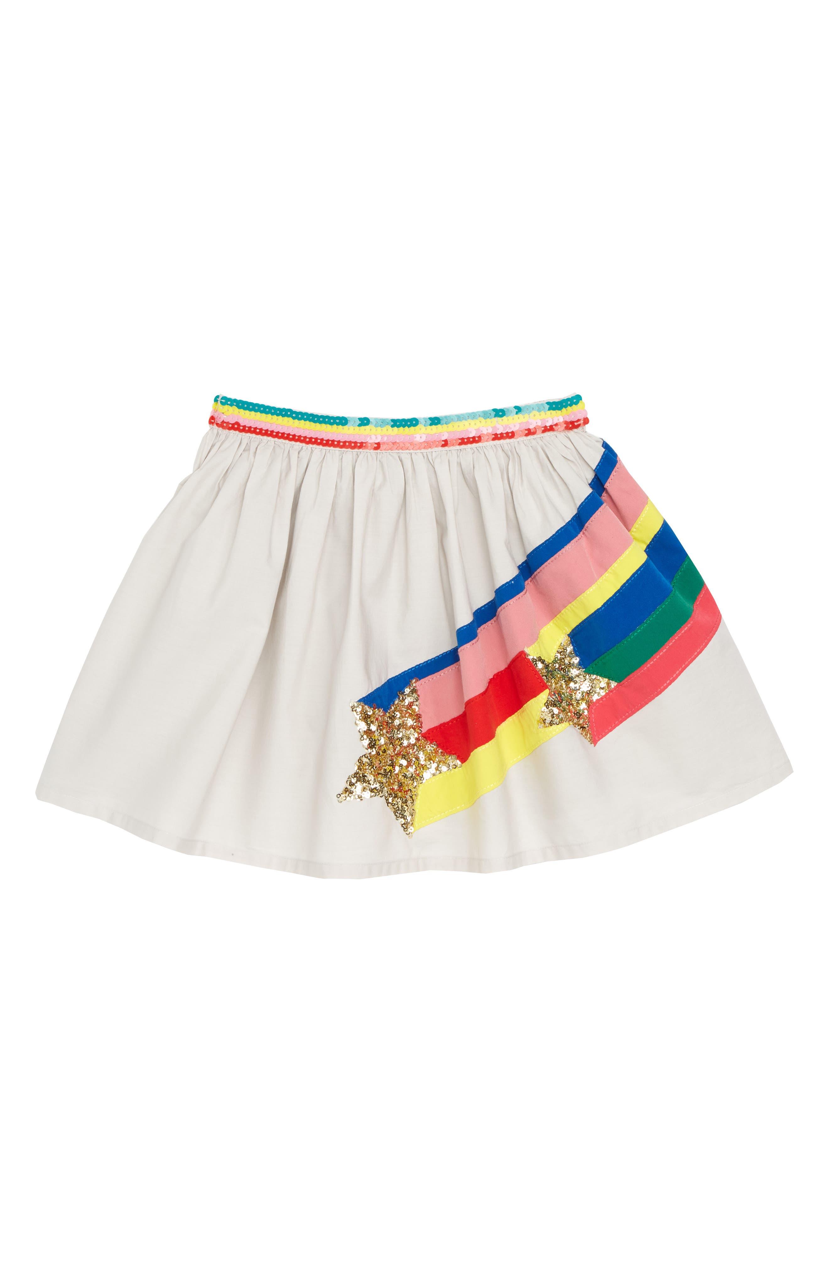 Sequin Appliqué Skirt,                         Main,                         color, 054